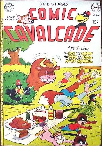 Comic Cavalcade issue 43 - Page 1