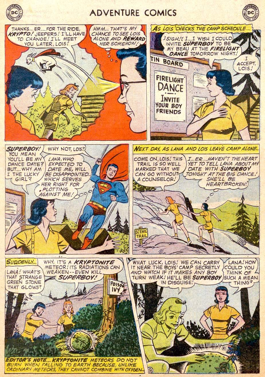 Read online Adventure Comics (1938) comic -  Issue #261 - 11