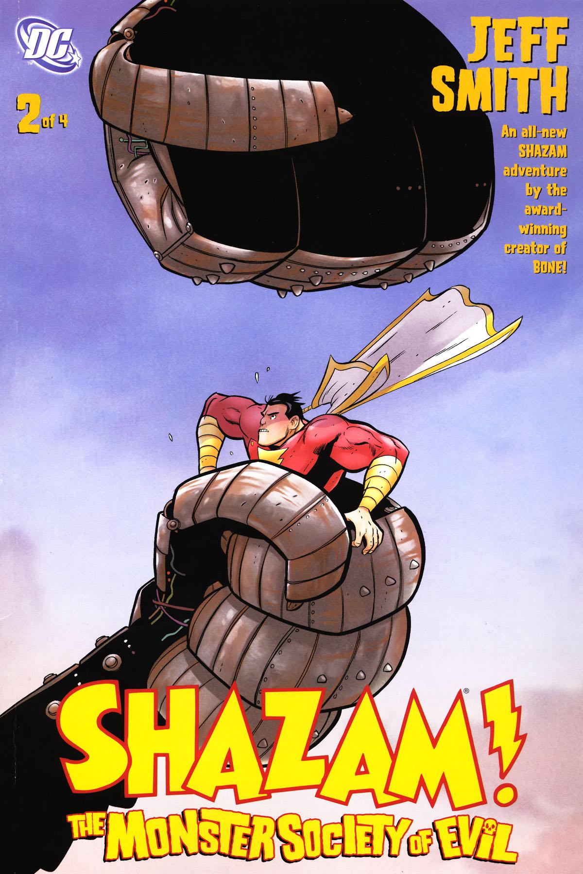 Read online Shazam!: The Monster Society of Evil comic -  Issue #2 - 2
