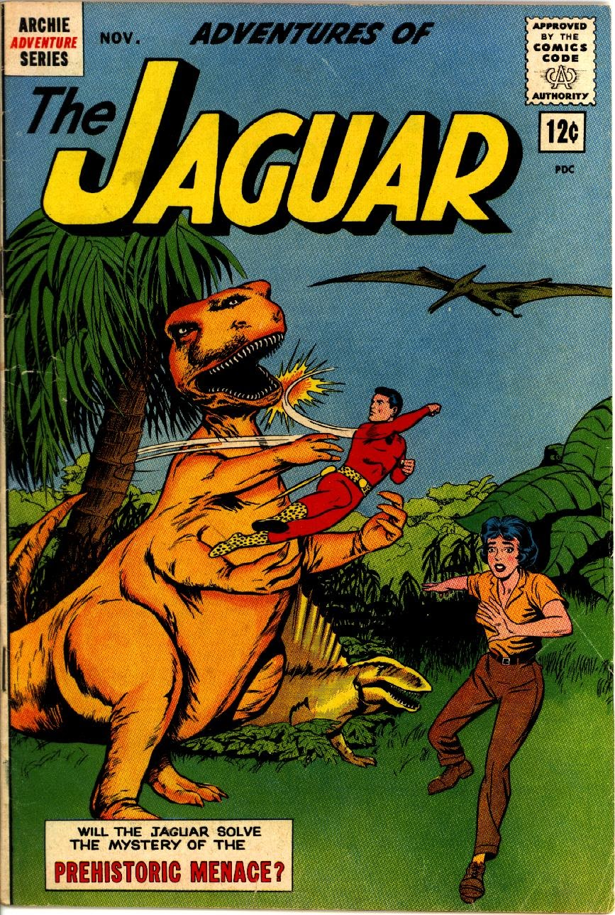 Adventures of the Jaguar issue 10 - Page 1