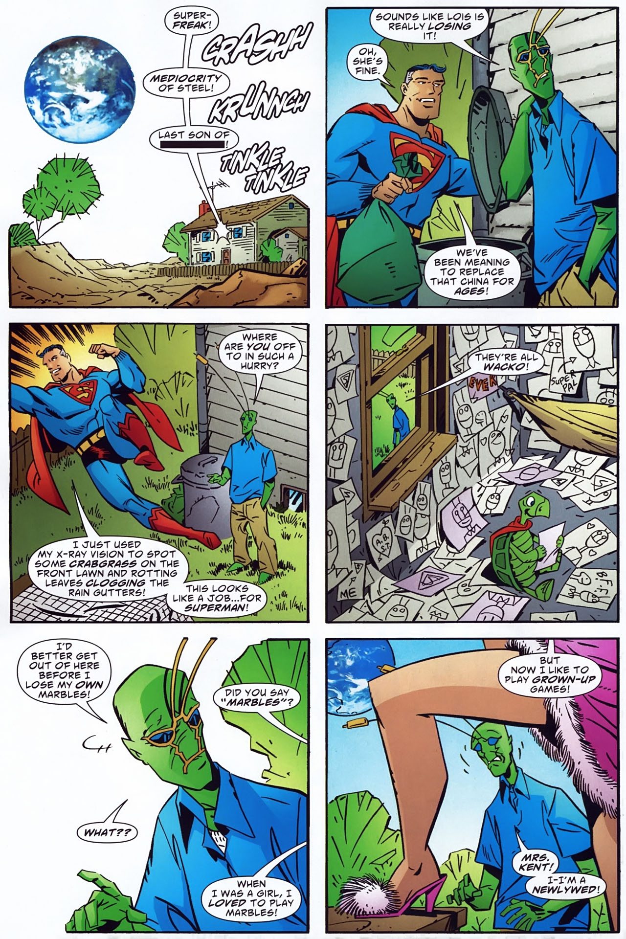 Read online Ambush Bug: Year None comic -  Issue #3 - 11