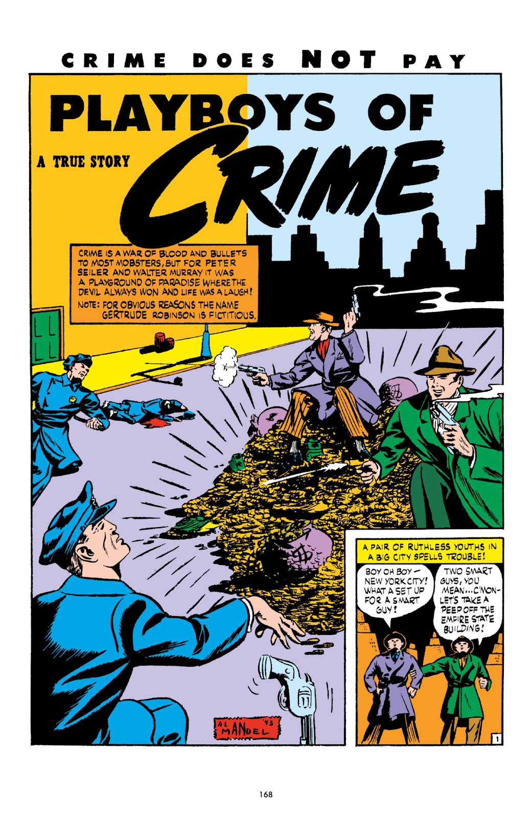 Read online Crime Does Not Pay Archives comic -  Issue # TPB 3 (Part 2) - 68