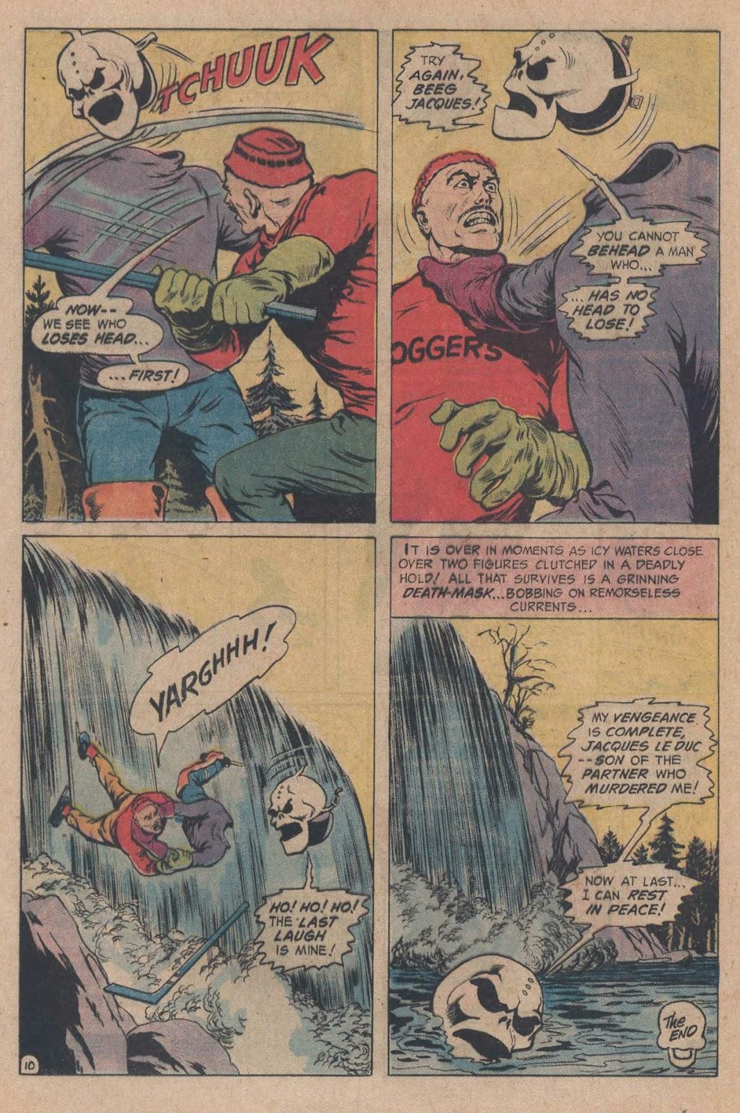 Read online Strange Sports Stories (1973) comic -  Issue #5 - 16