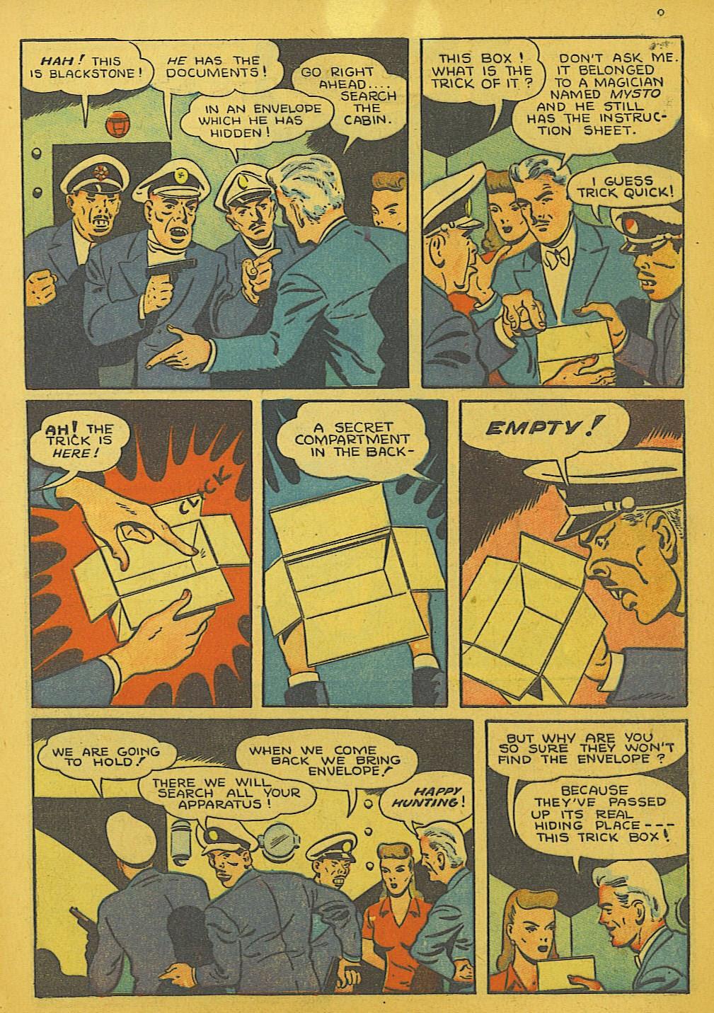 Read online Super-Magician Comics comic -  Issue #10 - 9