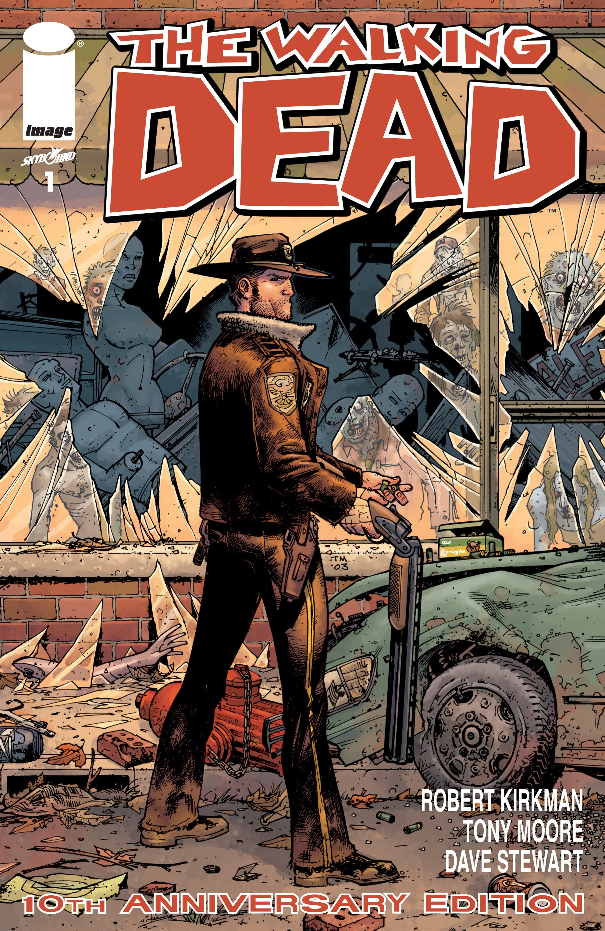 The Walking Dead 10th Anniversary Edition Full Page 1