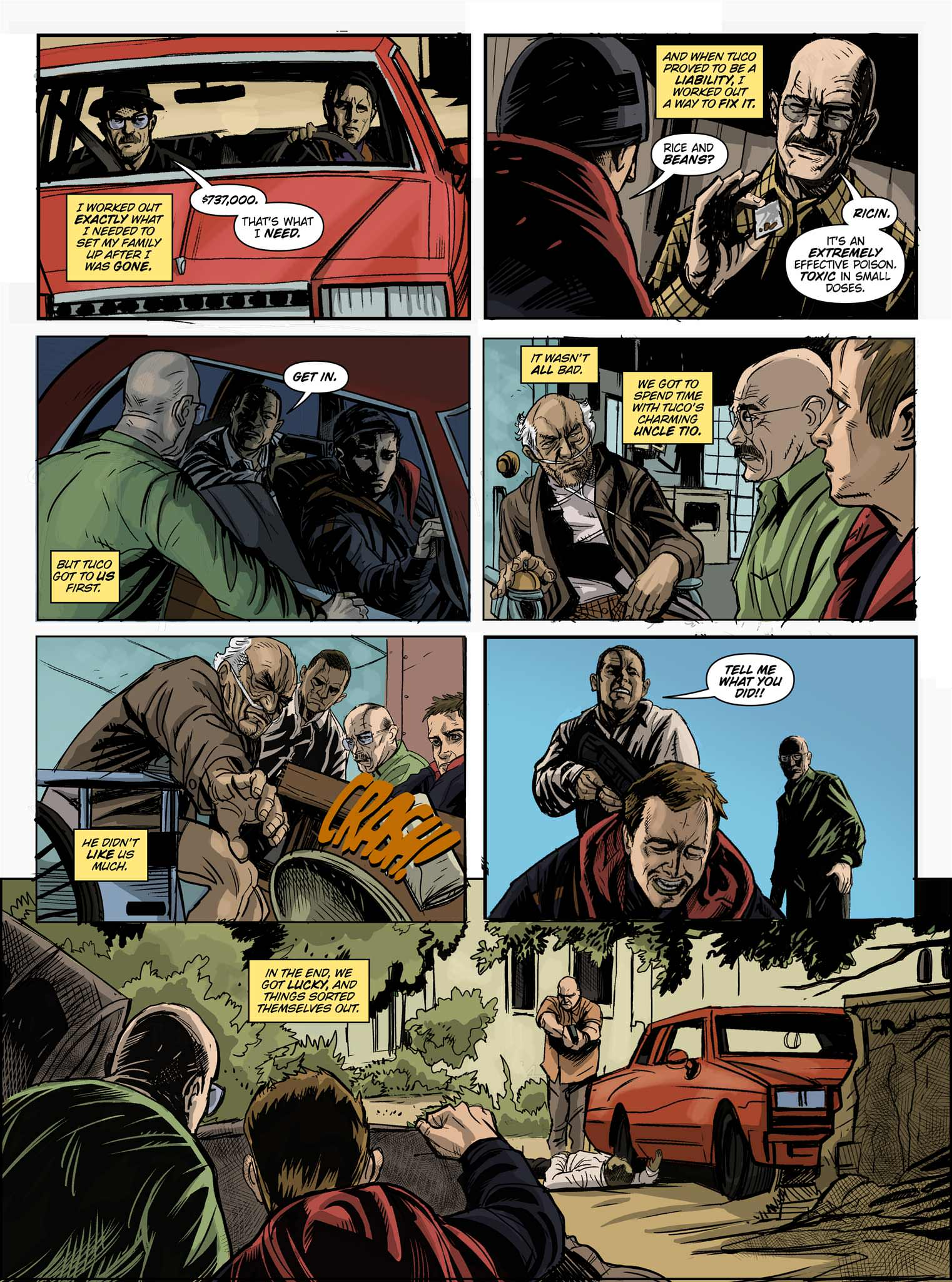 Read online Breaking Bad: All Bad Things comic -  Issue # Full - 6
