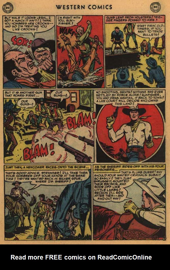 Western Comics issue 41 - Page 21