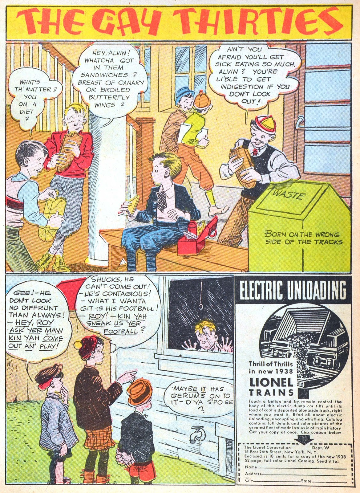 Read online Famous Funnies comic -  Issue #52 - 5