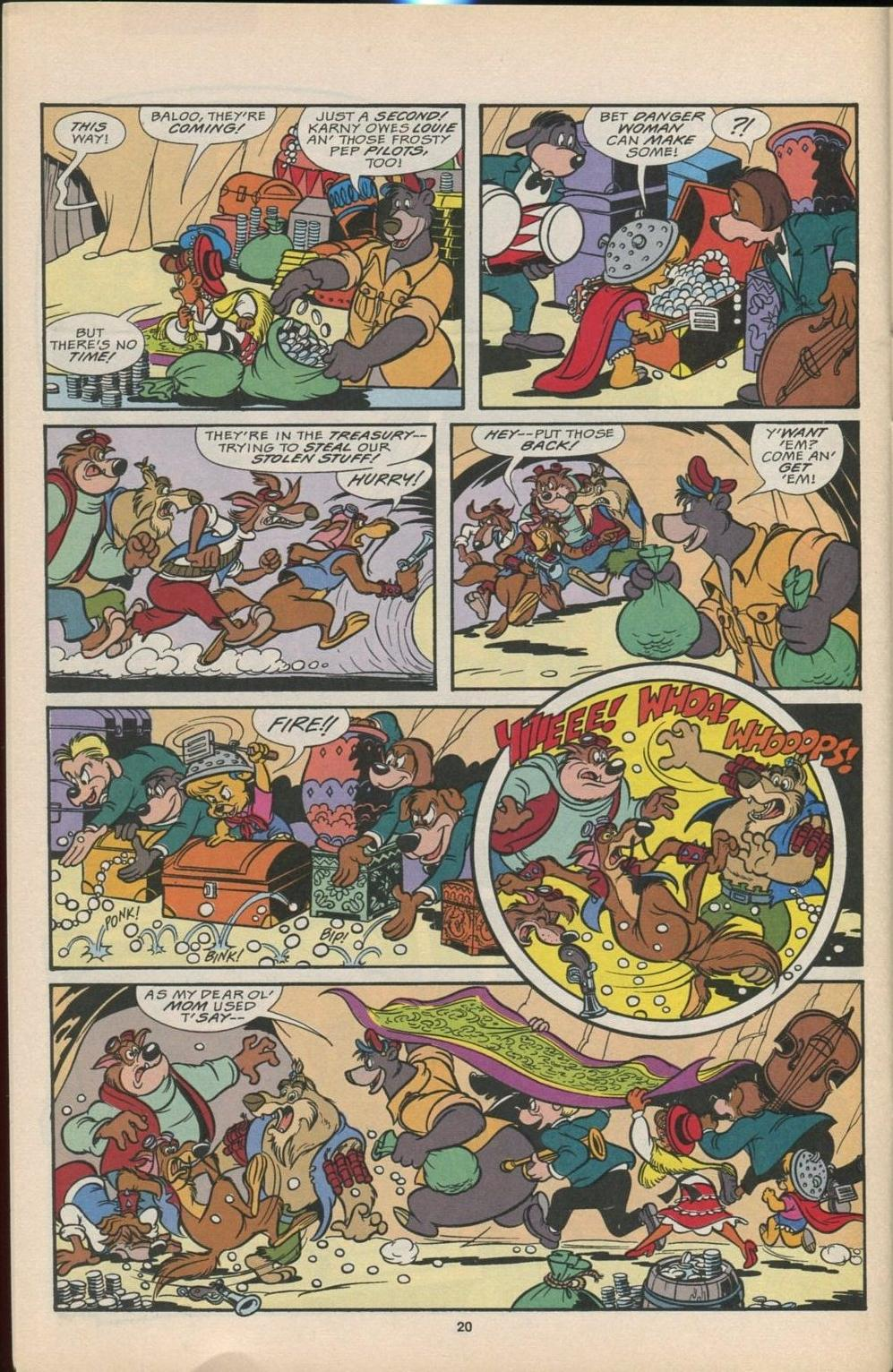 Read online Disney's Tale Spin comic -  Issue #6 - 21