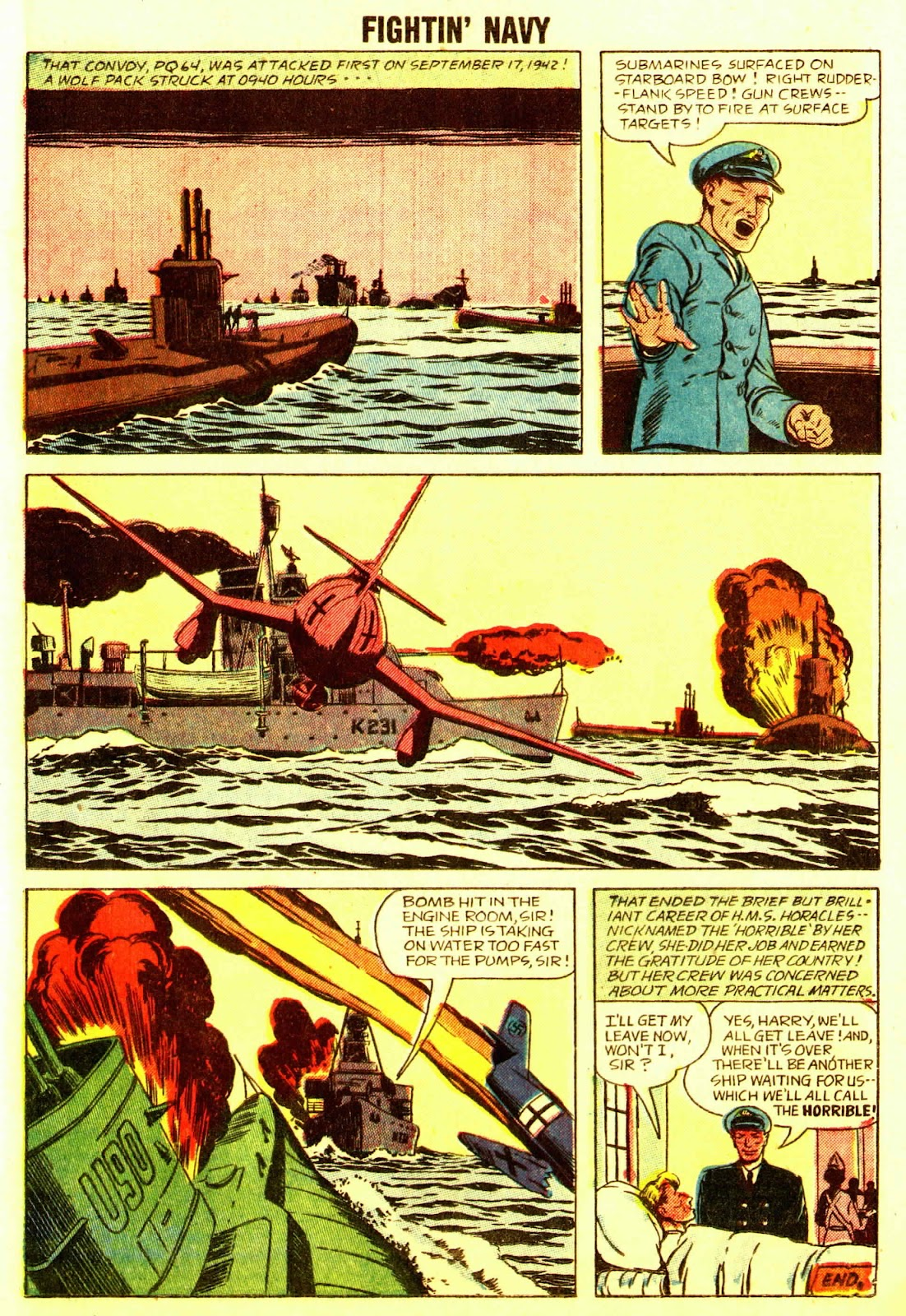 Read online Fightin' Navy comic -  Issue #83 - 47