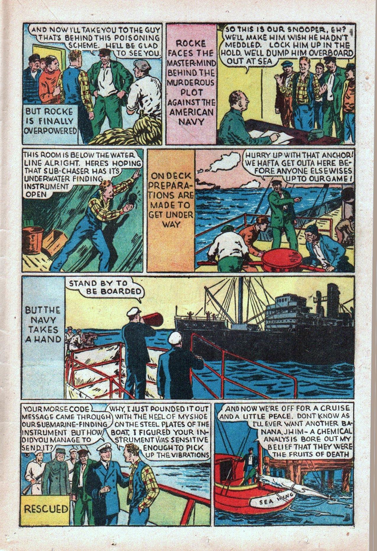 Read online Amazing Man Comics comic -  Issue #20 - 42