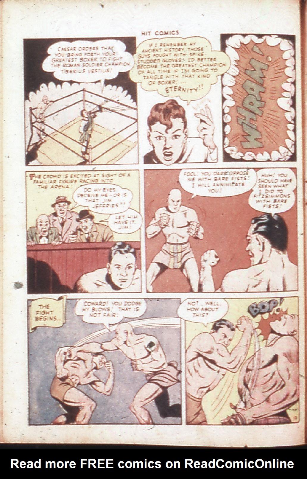 Read online Hit Comics comic -  Issue #30 - 15