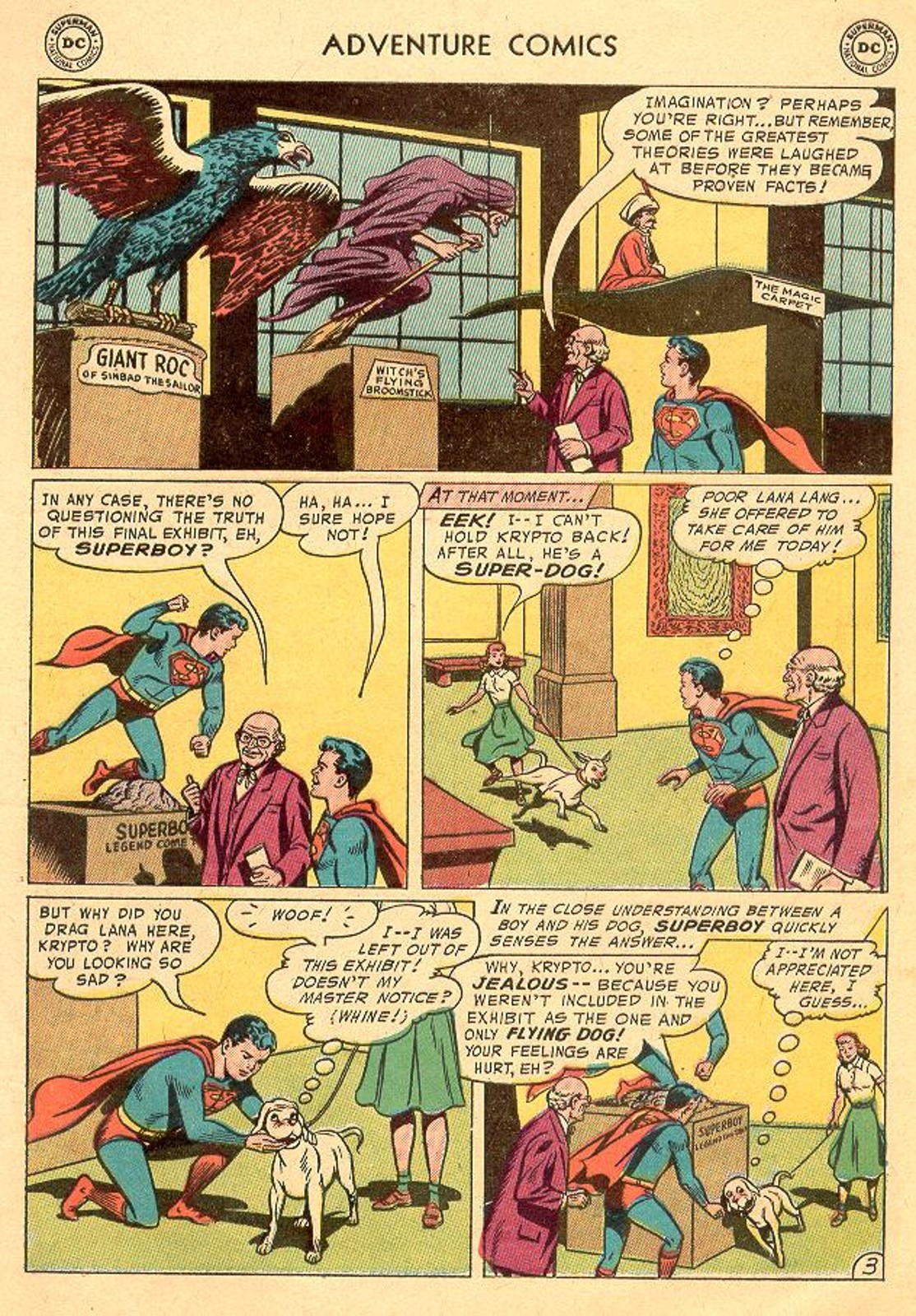 Read online Adventure Comics (1938) comic -  Issue #226 - 5