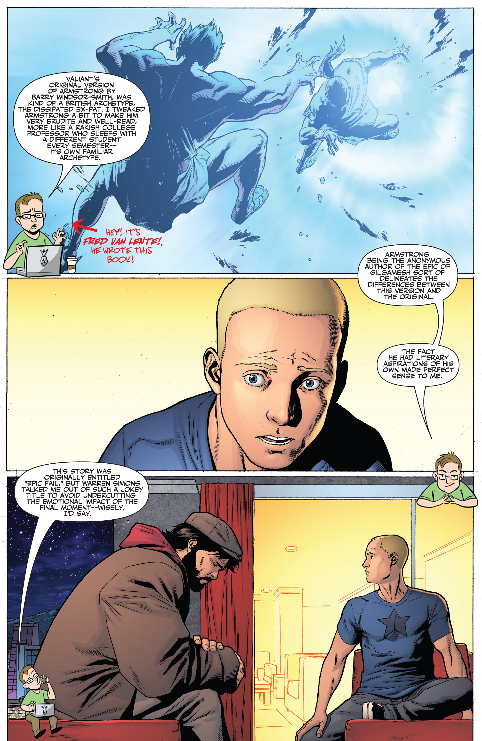Read online Archer and Armstrong comic -  Issue #Archer and Armstrong _TPB 7 - 97