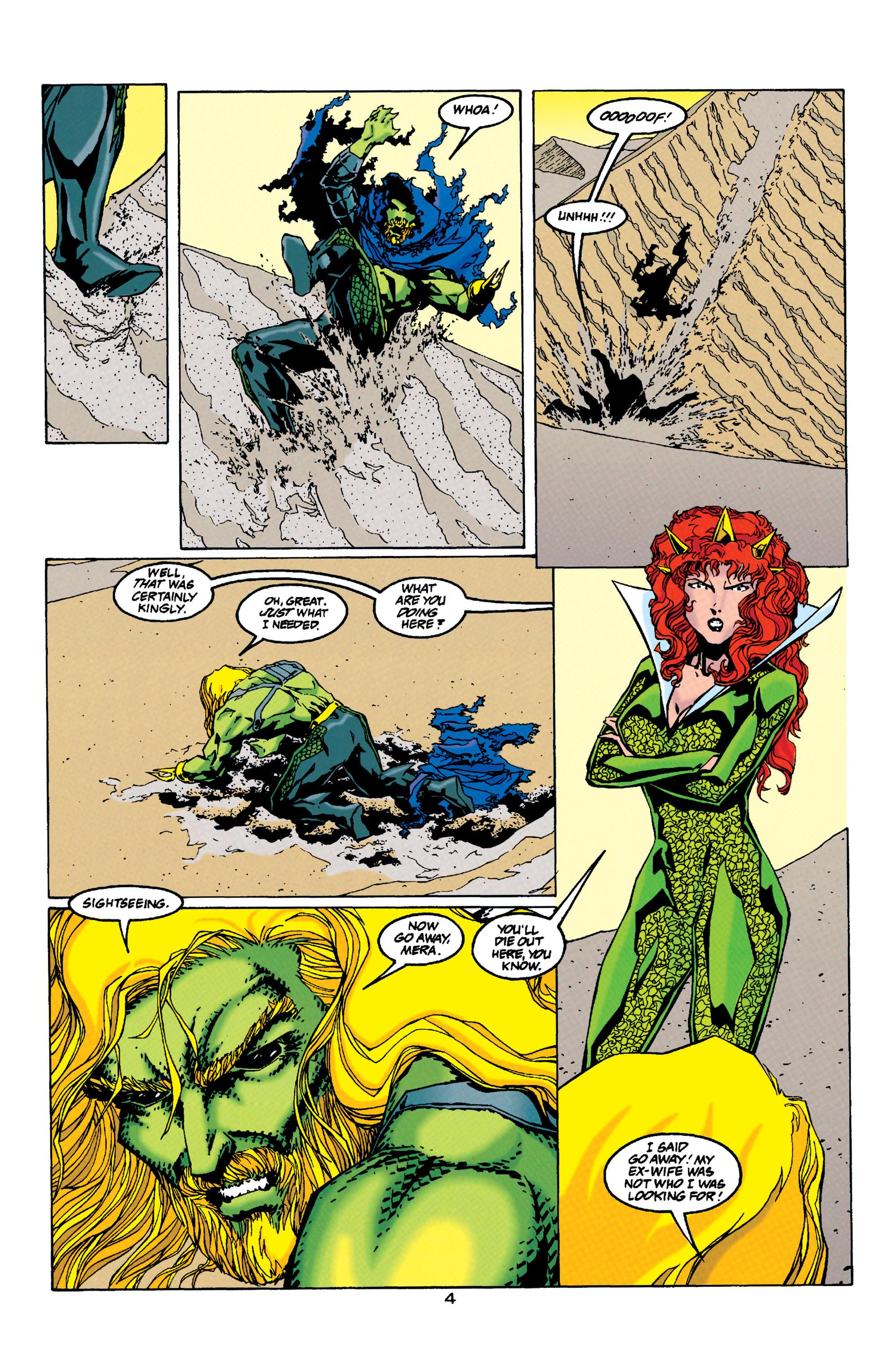 Read online Aquaman (1994) comic -  Issue #33 - 4