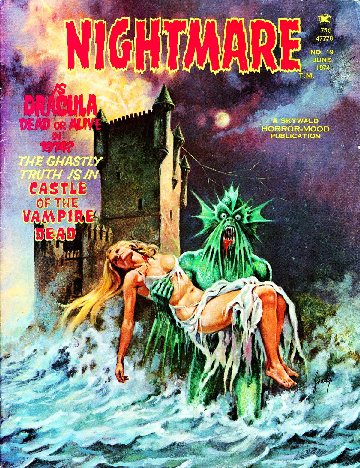 Nightmare (1970) issue 19 - Page 1
