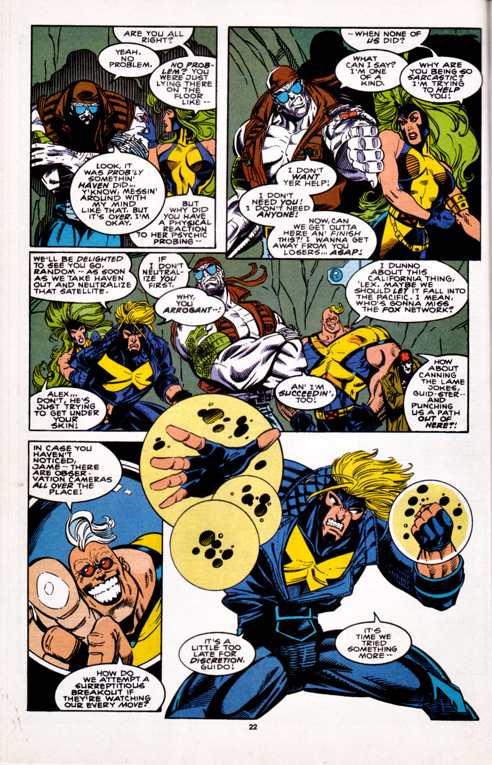 Read online X-Factor (1986) comic -  Issue #100 - 18