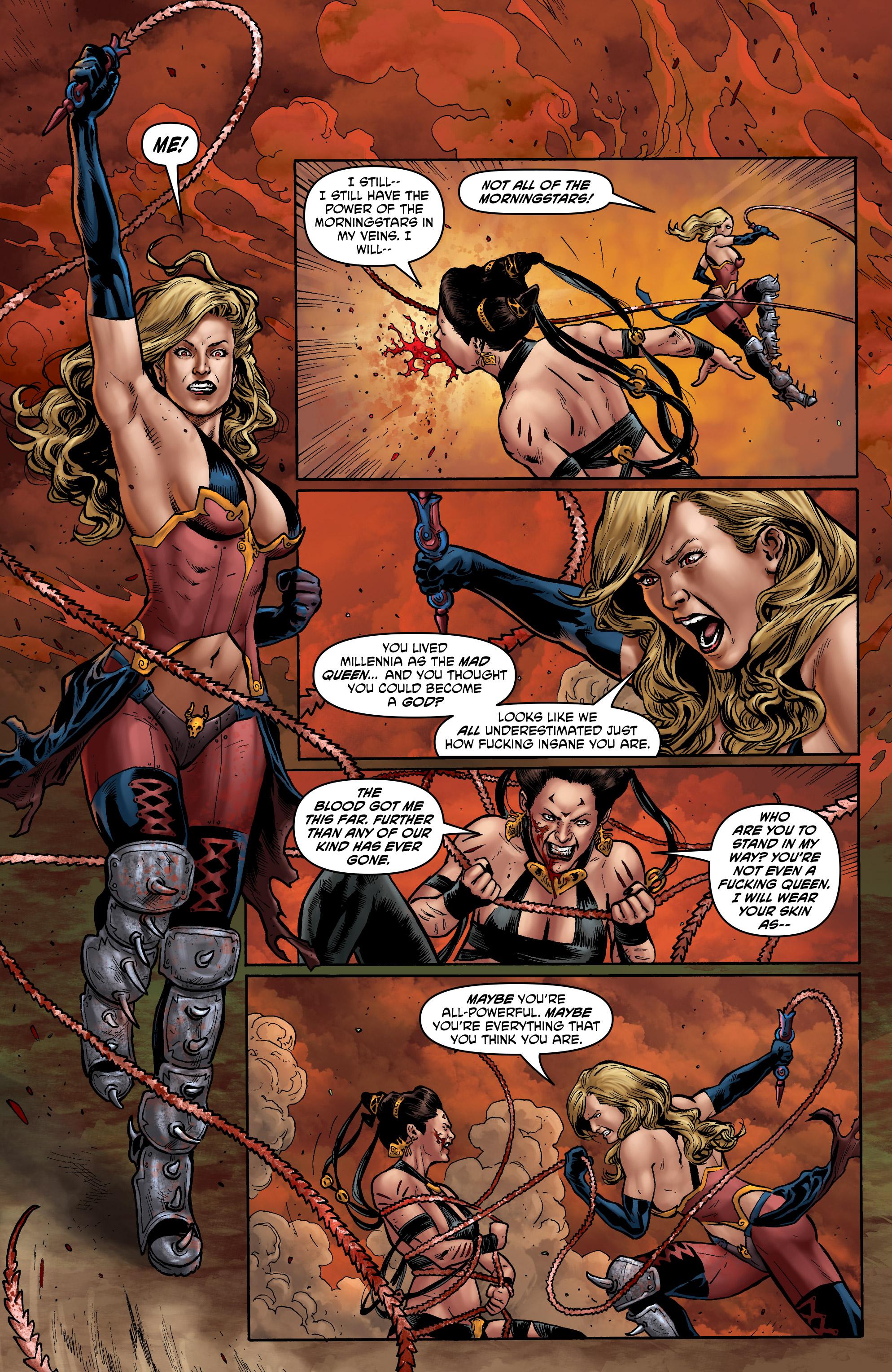 Read online Hellina: Scythe comic -  Issue #4 - 13