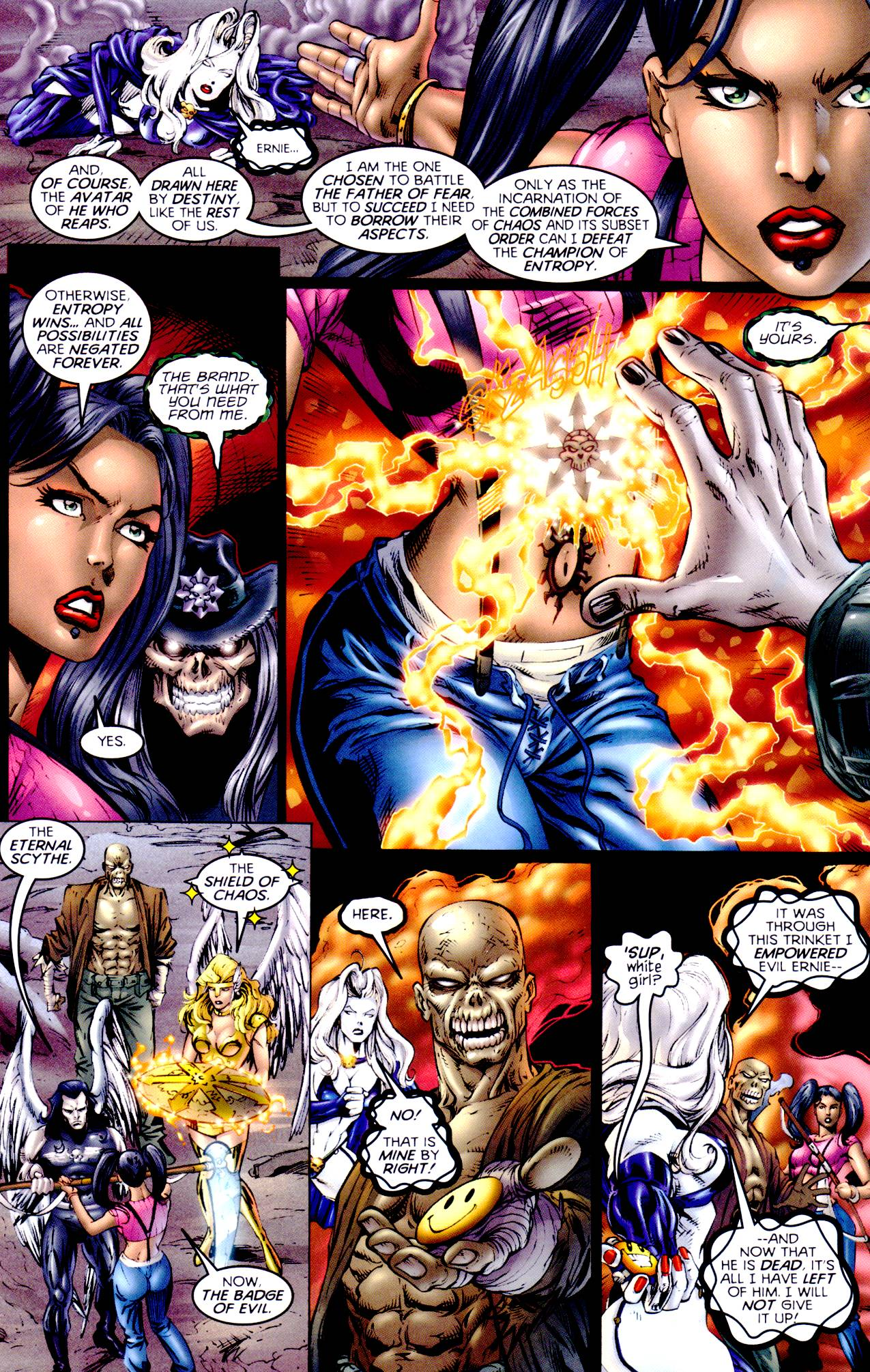 Read online Armageddon (1999) comic -  Issue #4 - 14