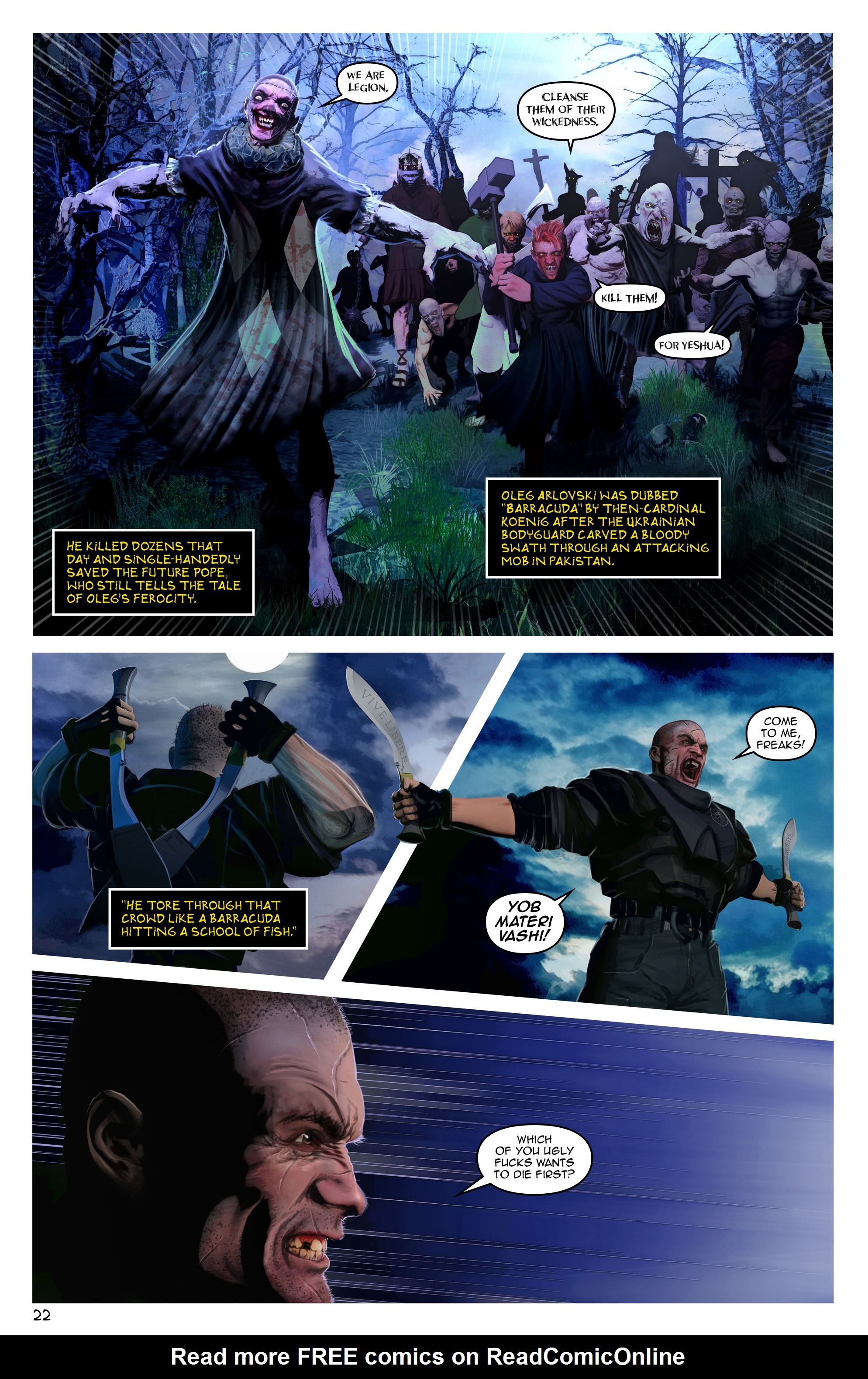 Read online Escape from Jesus Island comic -  Issue #3 - 22