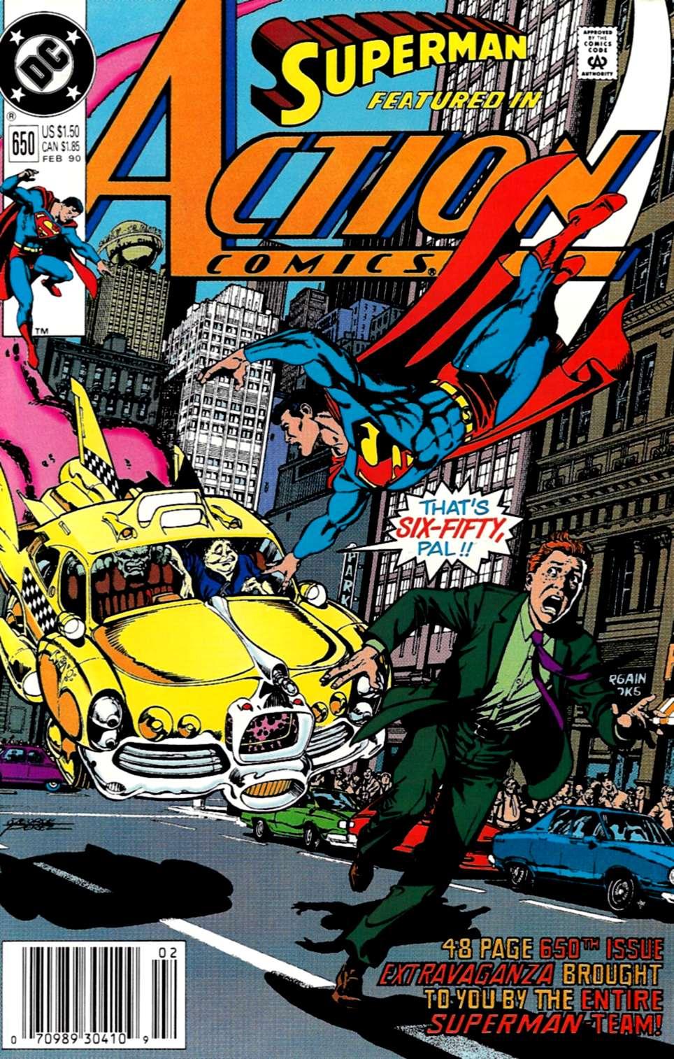 Action Comics (1938) 650 Page 1