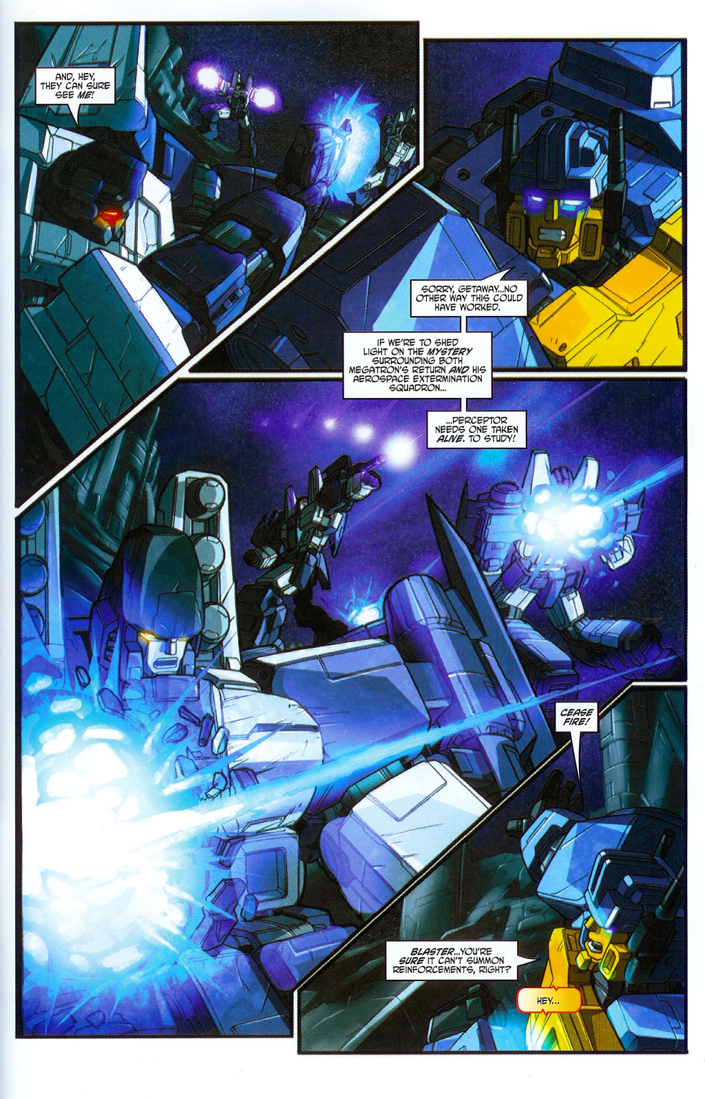 """Read online Transformers War Within: """"The Age of Wrath"""" comic -  Issue #2 - 21"""