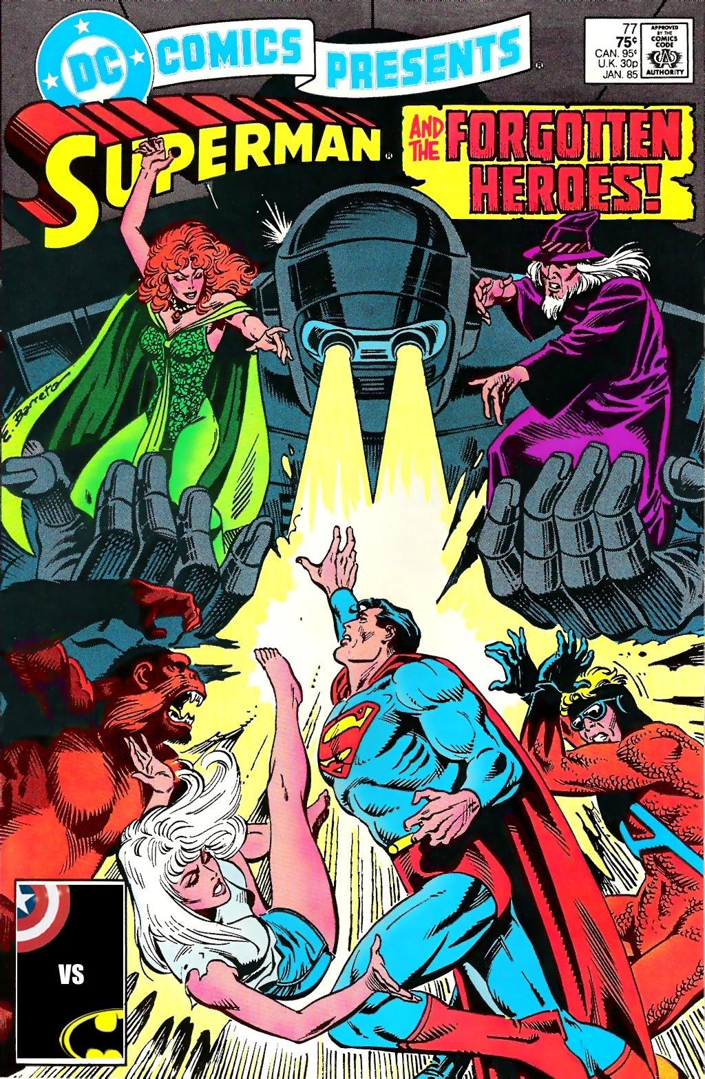 DC Comics Presents (1978) 77 Page 1