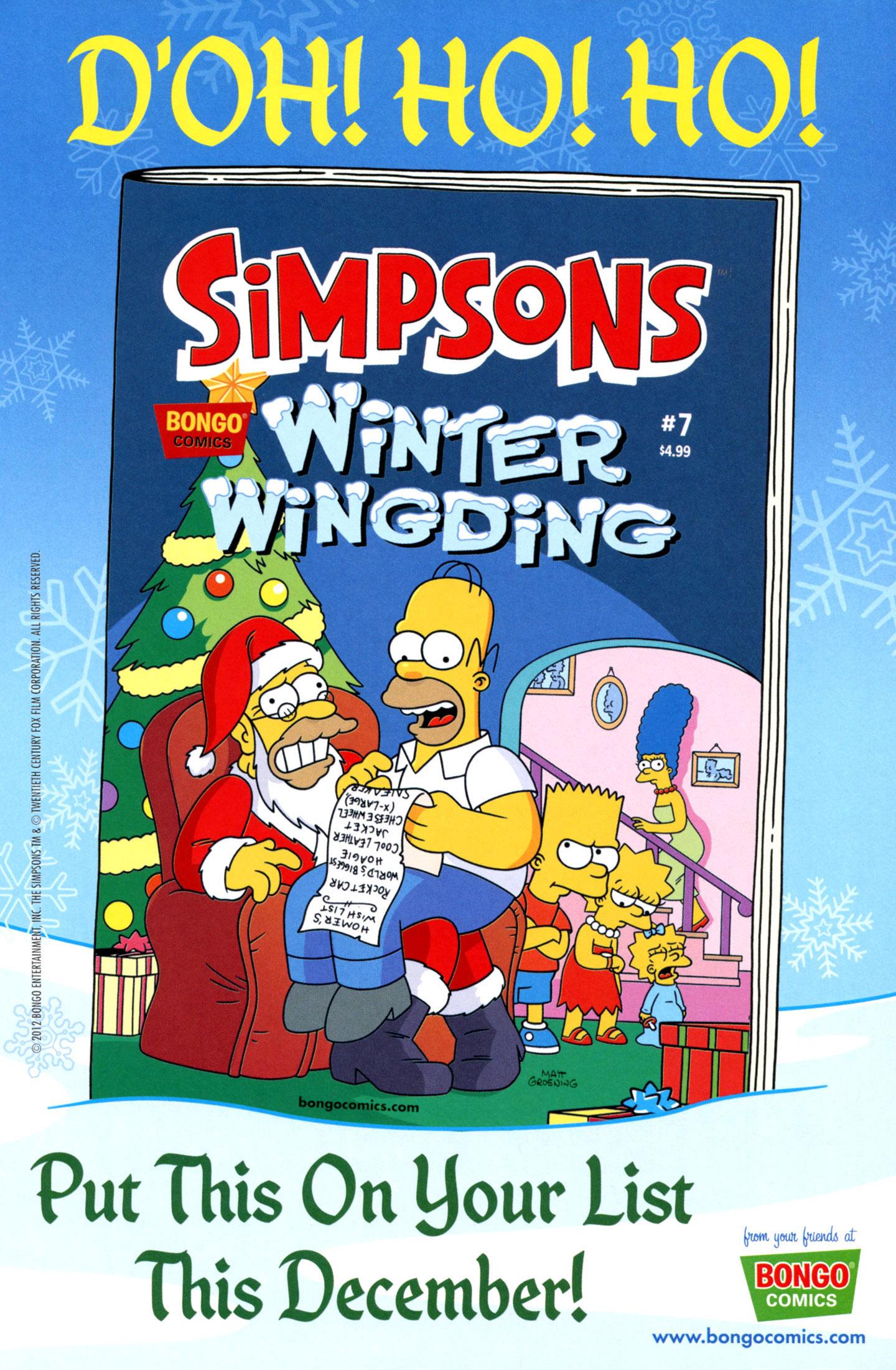 Read online Simpsons Comics comic -  Issue #195 - 31