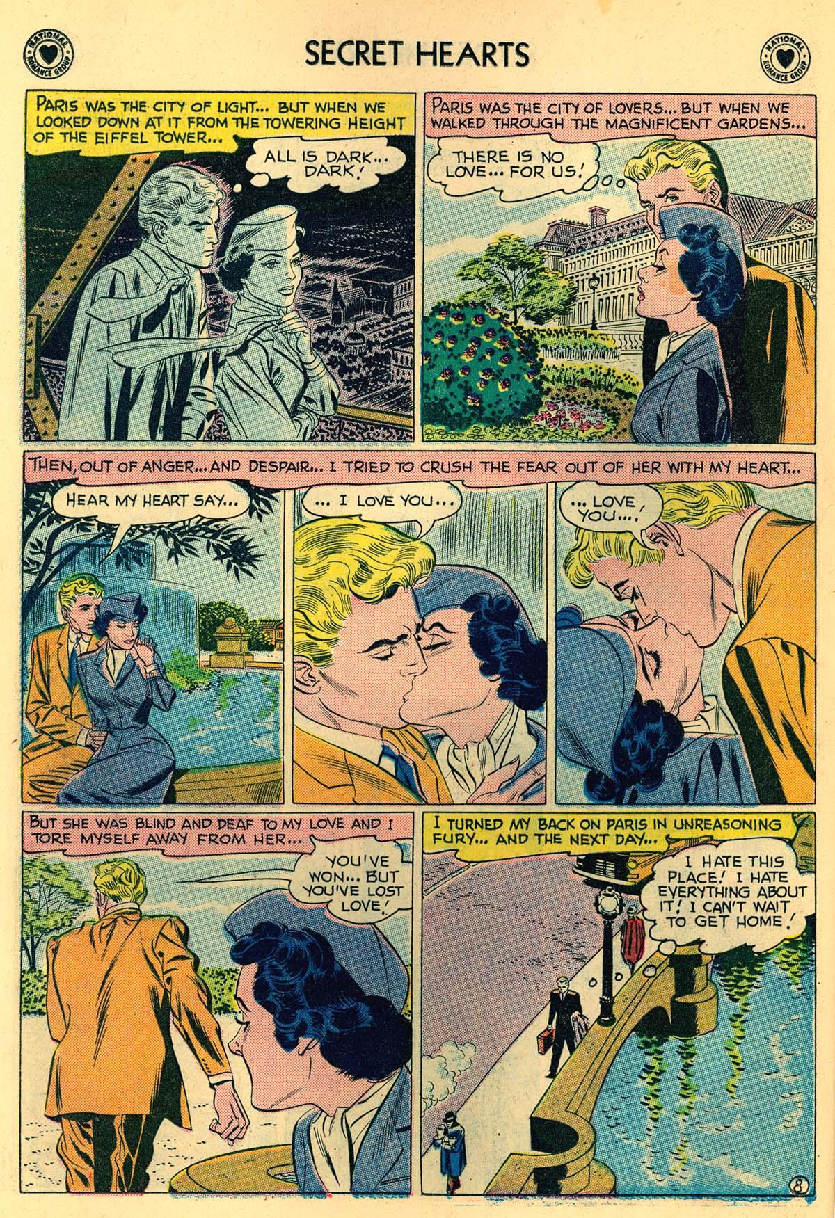 Read online Secret Hearts comic -  Issue #55 - 10