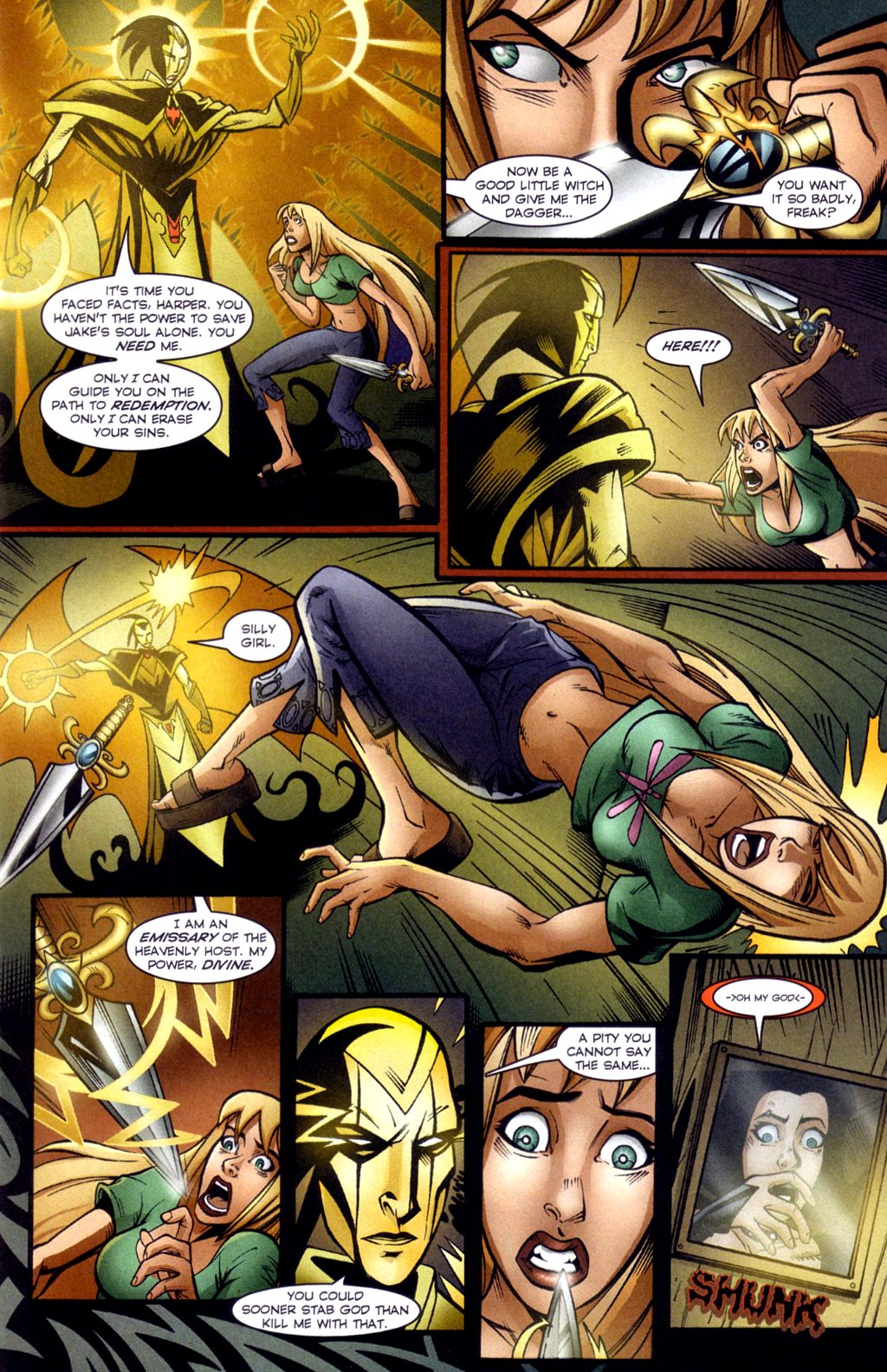 Read online Jezebelle comic -  Issue #3 - 9