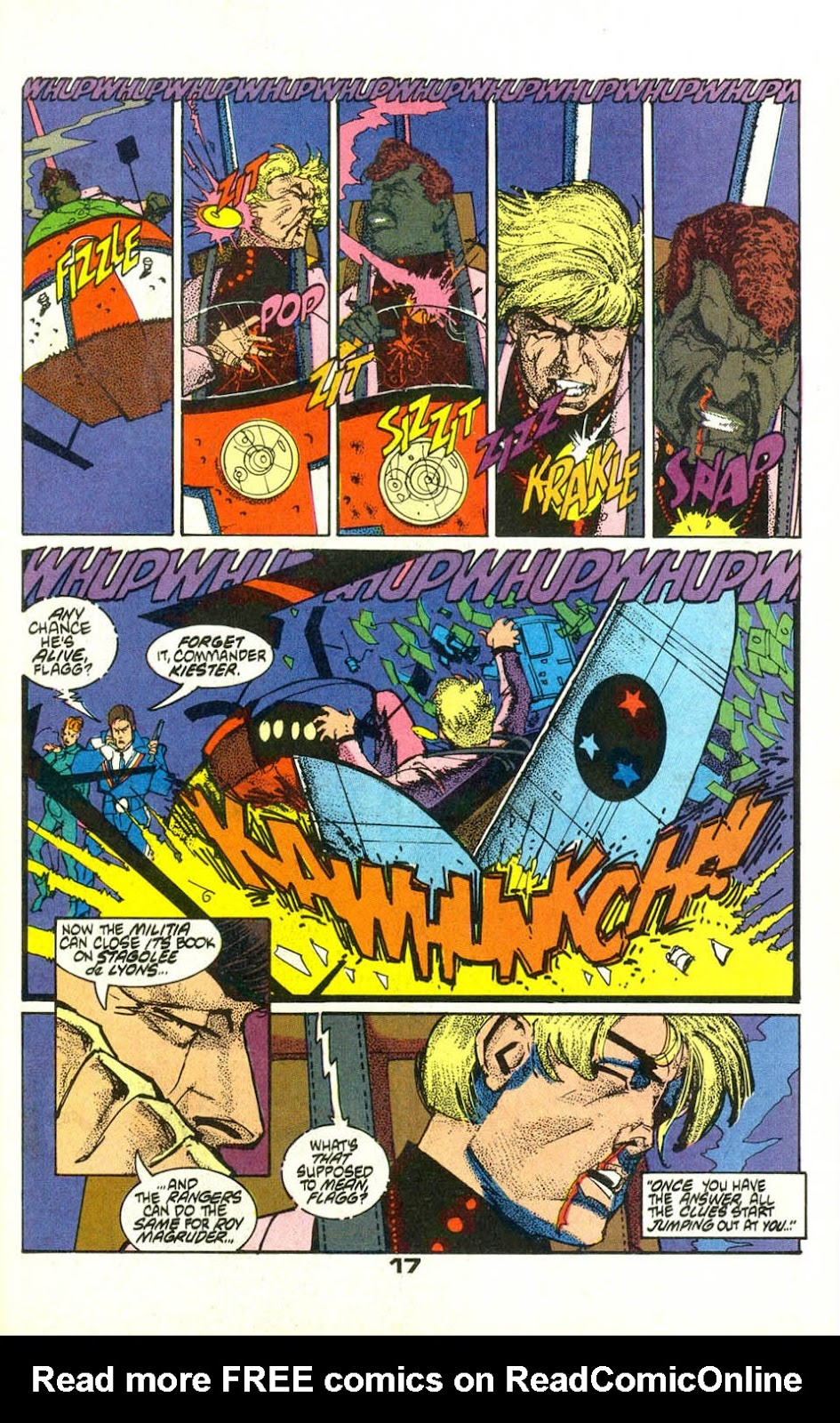 American Flagg! issue 22 - Page 19