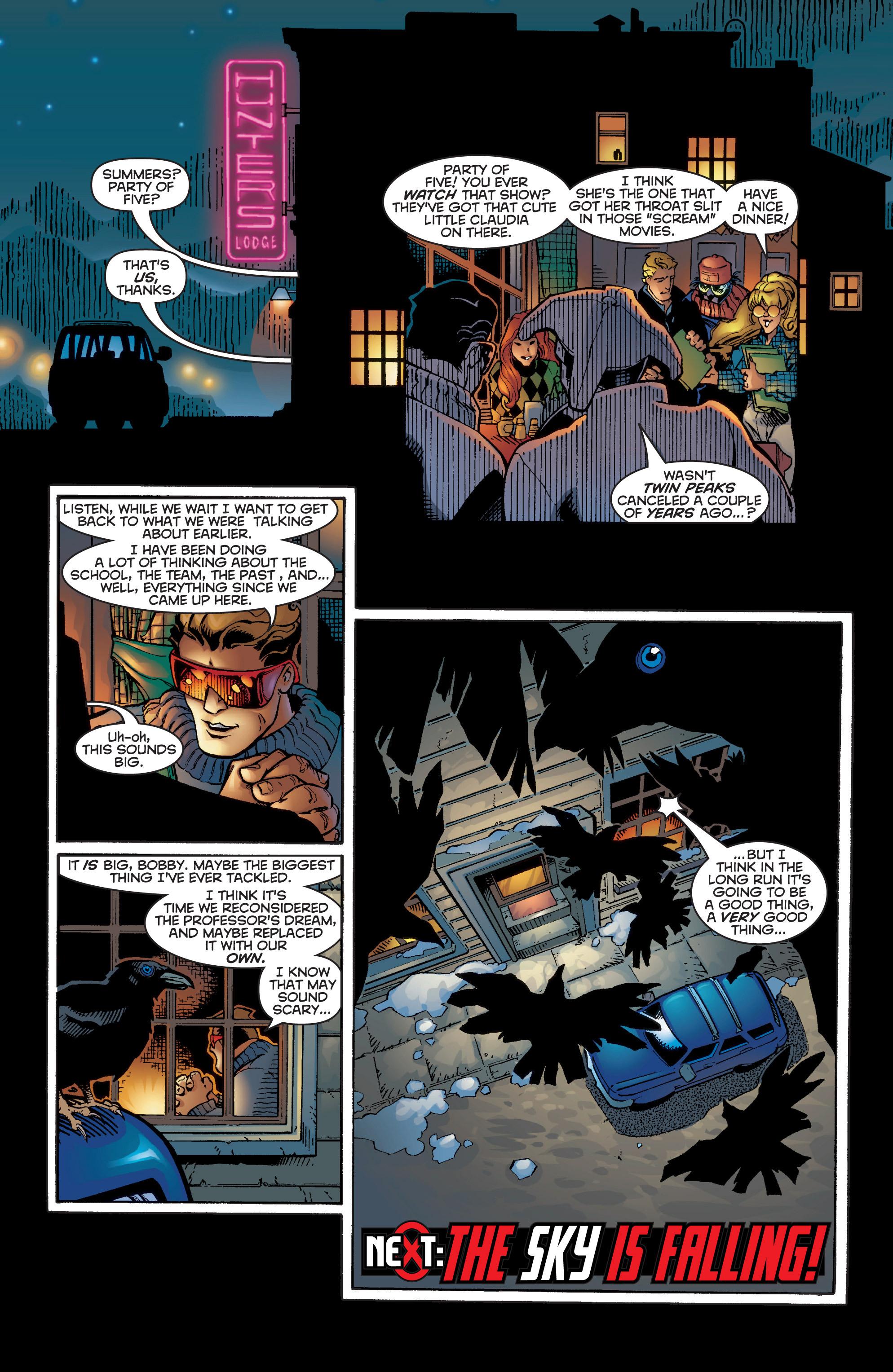 Read online Uncanny X-Men (1963) comic -  Issue #356 - 22