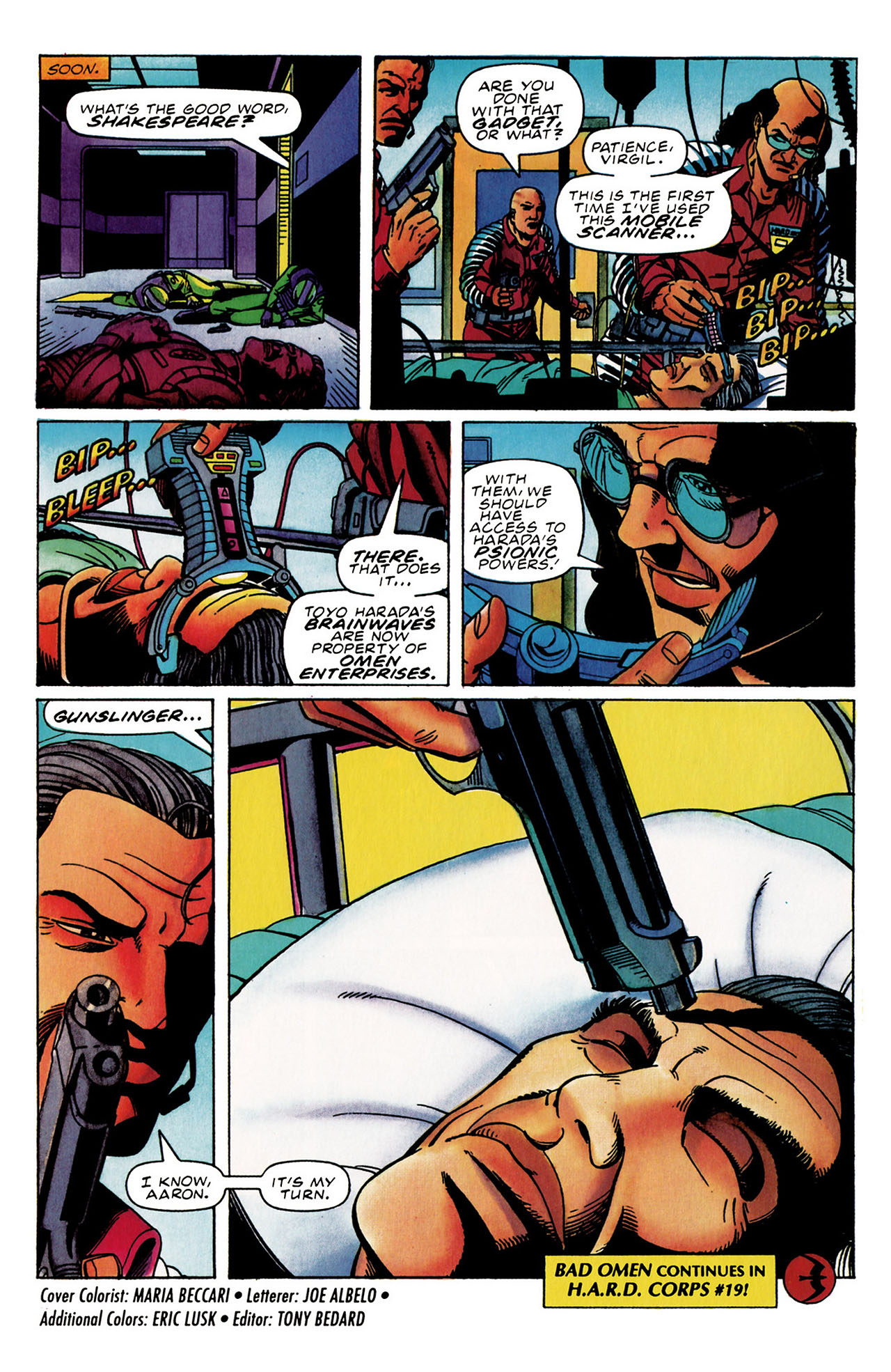 Read online Harbinger (1992) comic -  Issue #30 - 22