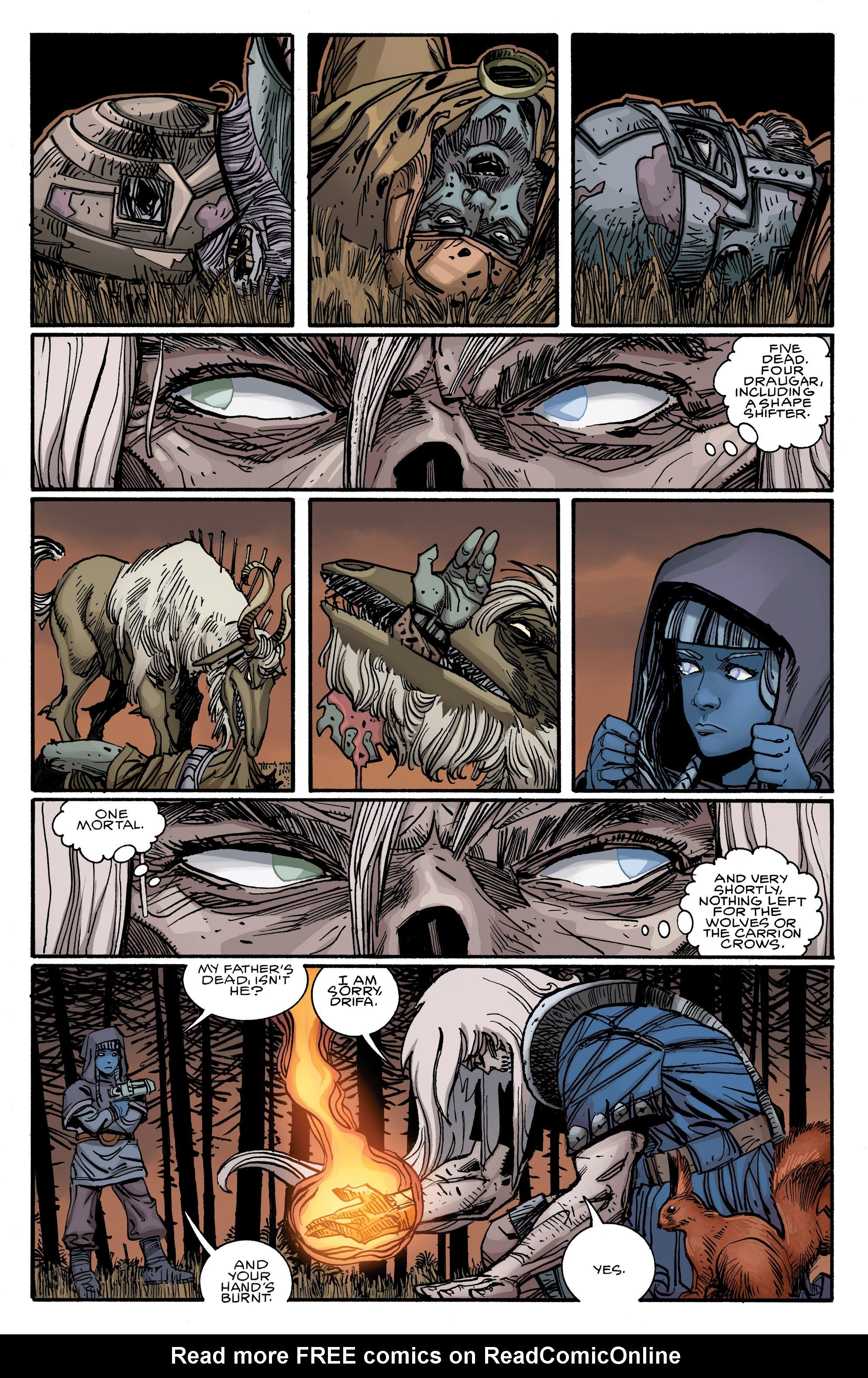 Read online Ragnarok comic -  Issue #12 - 12