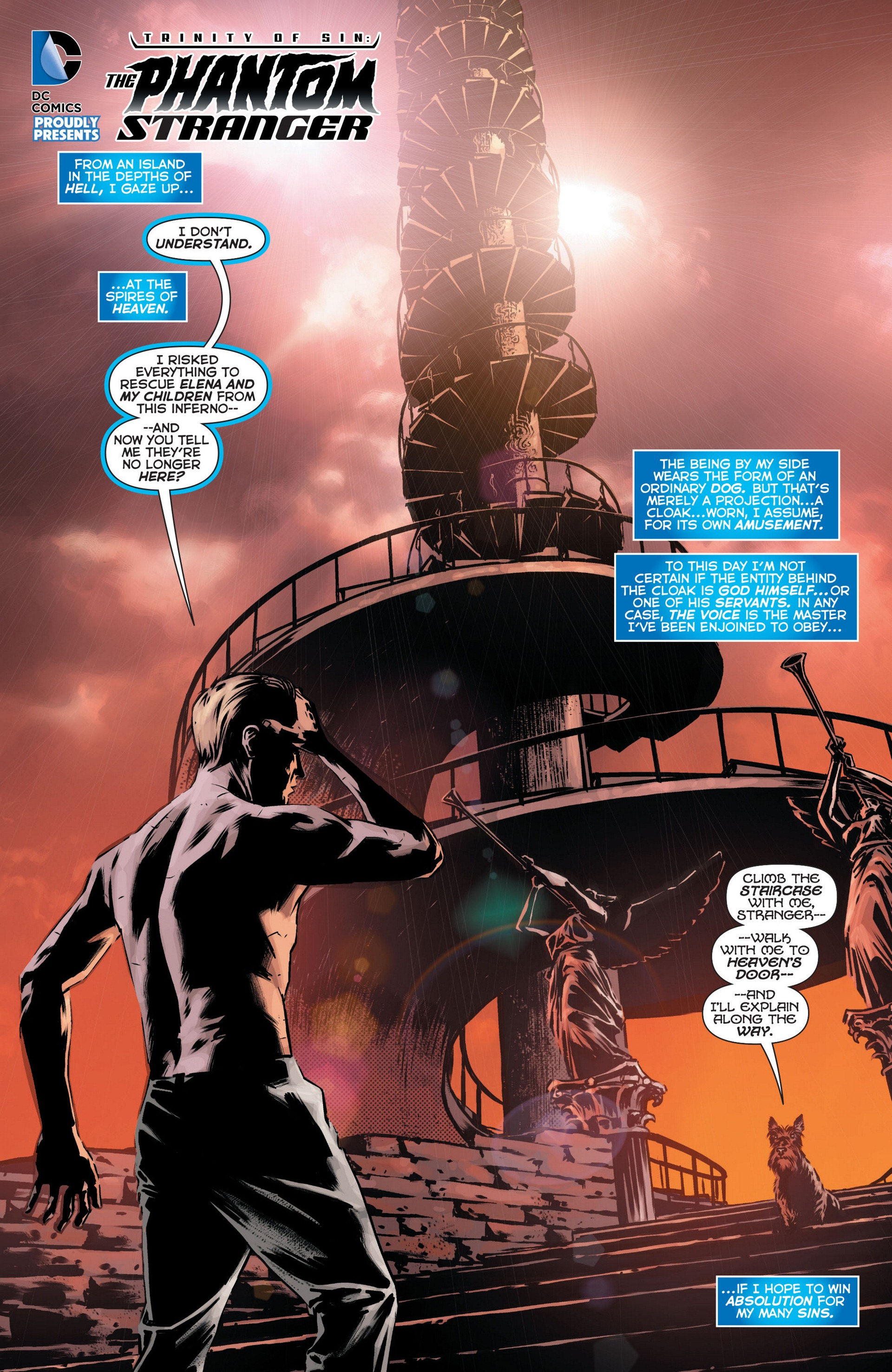 Read online Trinity of Sin: The Phantom Stranger comic -  Issue #10 - 2