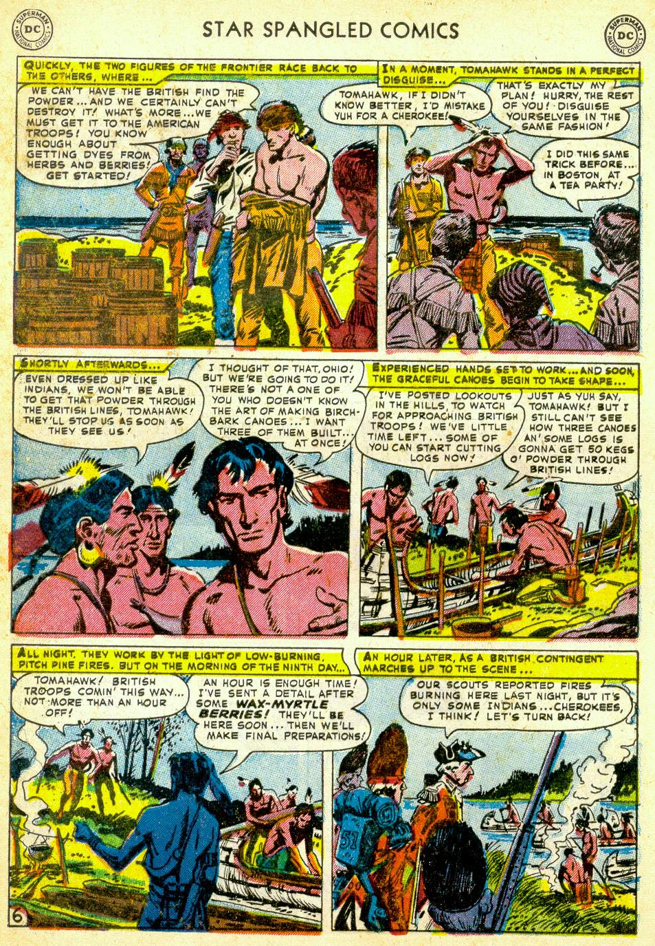 Star Spangled Comics (1941) issue 123 - Page 38