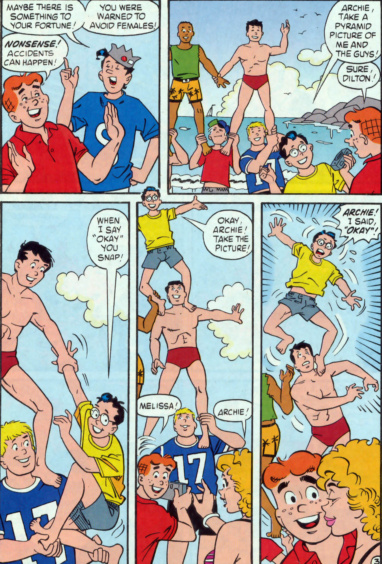Read online Archie (1960) comic -  Issue #475 - 5