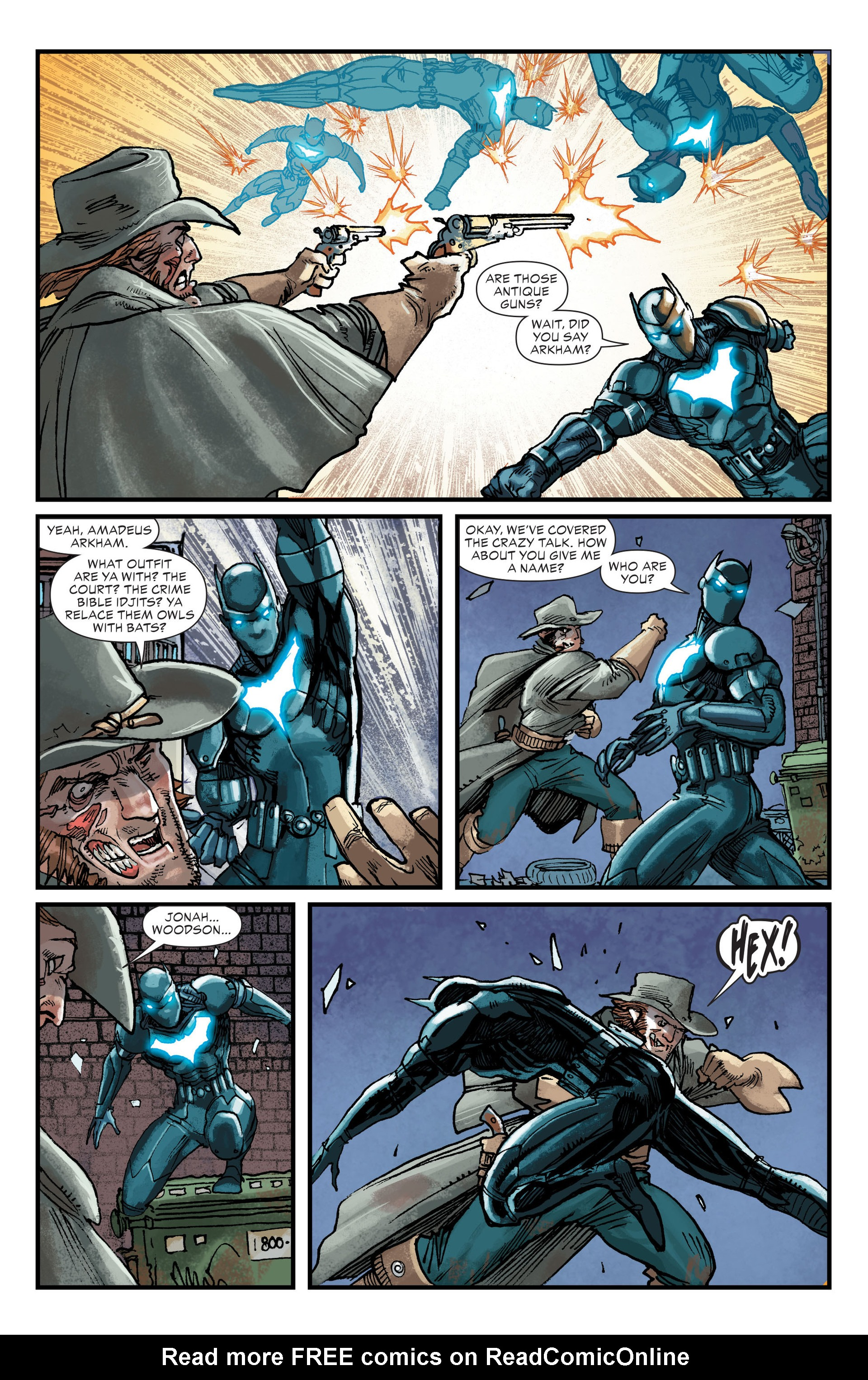 Read online All-Star Western (2011) comic -  Issue #21 - 17