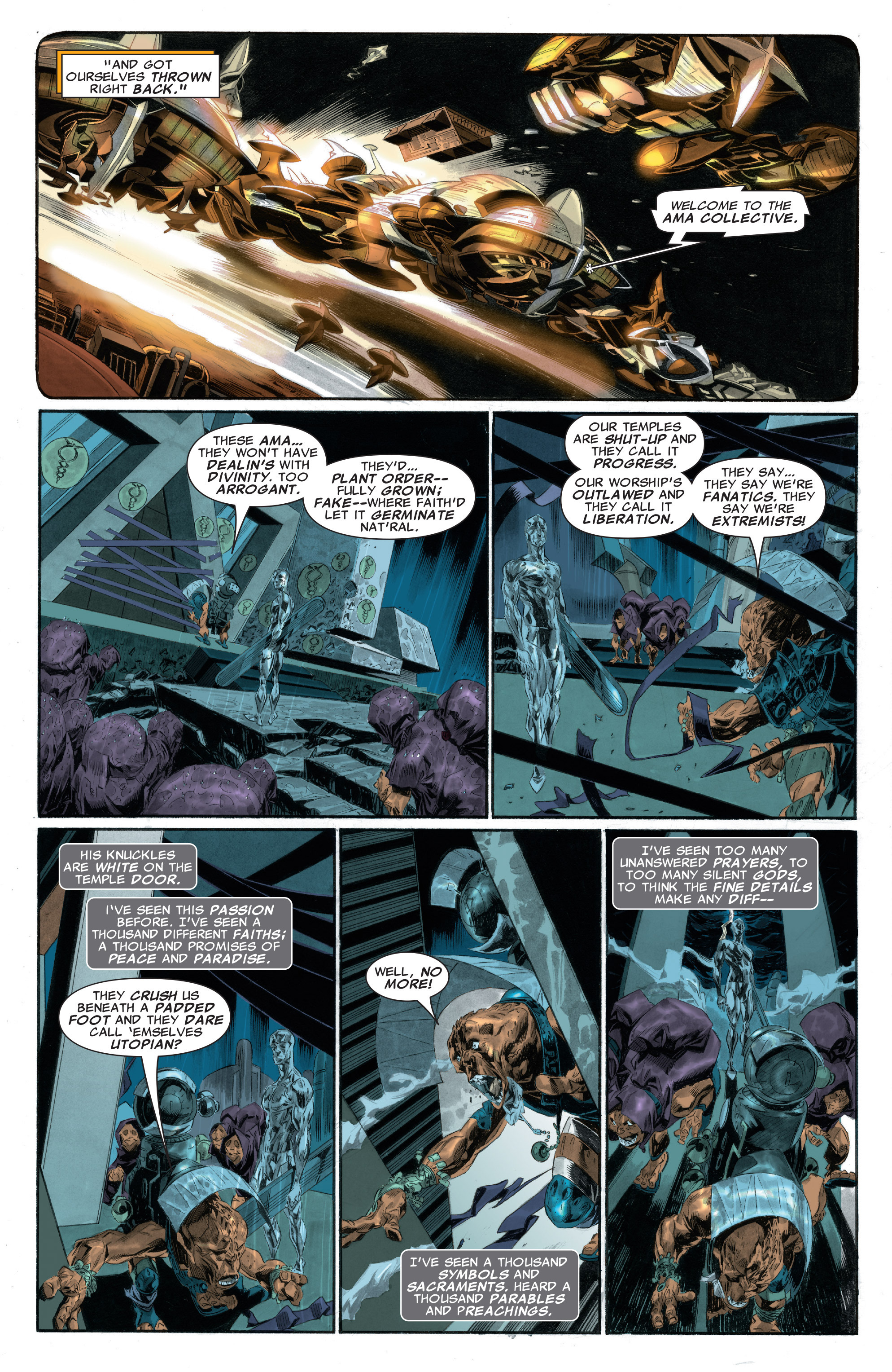 Read online Silver Surfer: In Thy Name comic -  Issue #2 - 14