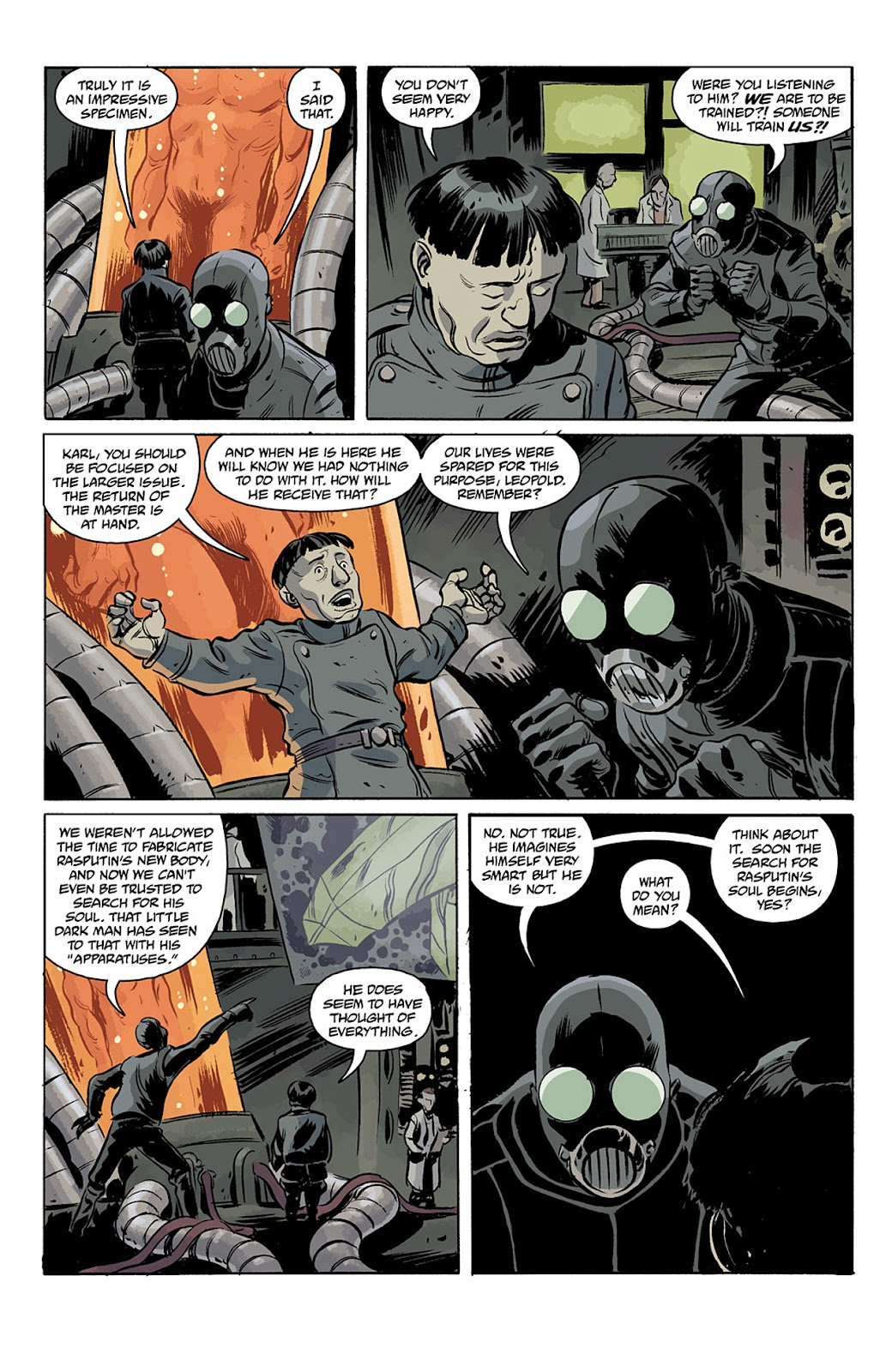 Read online B.P.R.D. Hell on Earth: The Return of the Master comic -  Issue #3 - 6