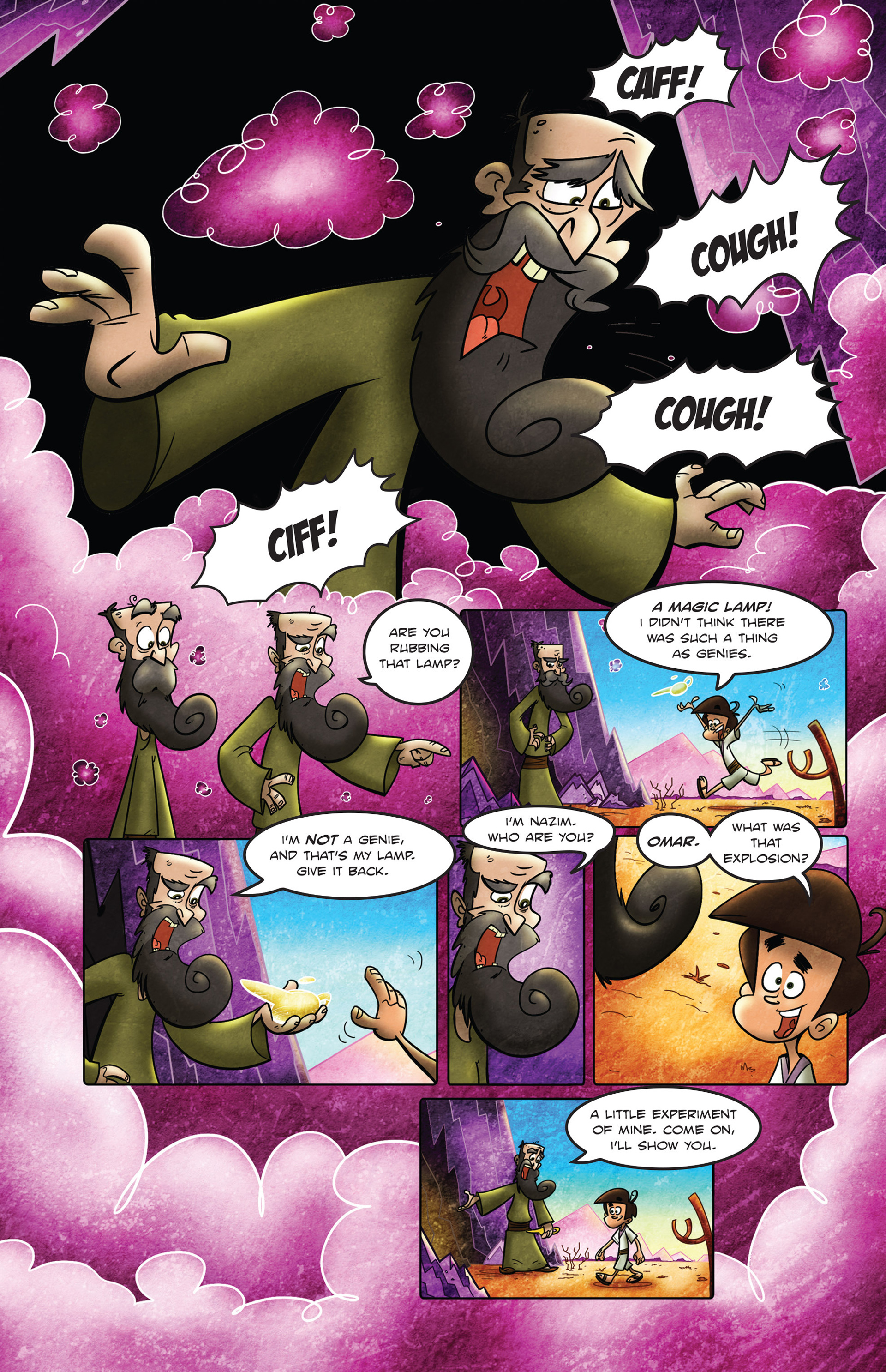 Read online 1001 Nights comic -  Issue #2 - 15