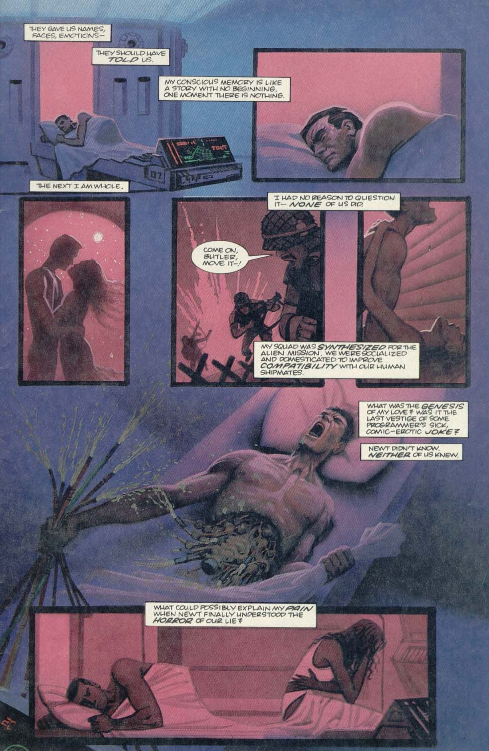 Read online Aliens (1989) comic -  Issue #4 - 3