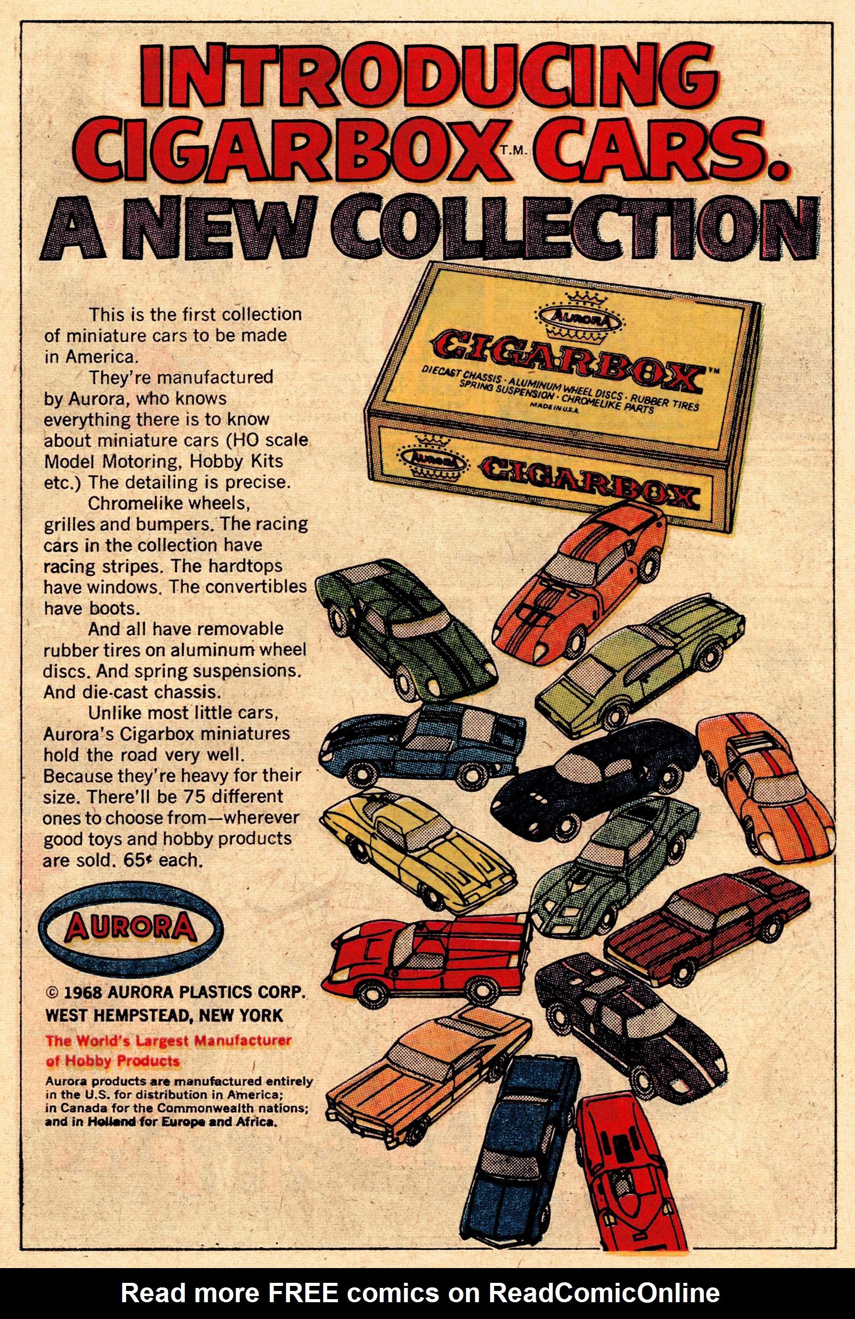 Read online Secret Six (1968) comic -  Issue #1 - 7