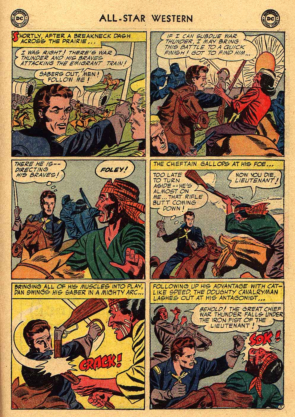 Read online All-Star Western (1951) comic -  Issue #80 - 23