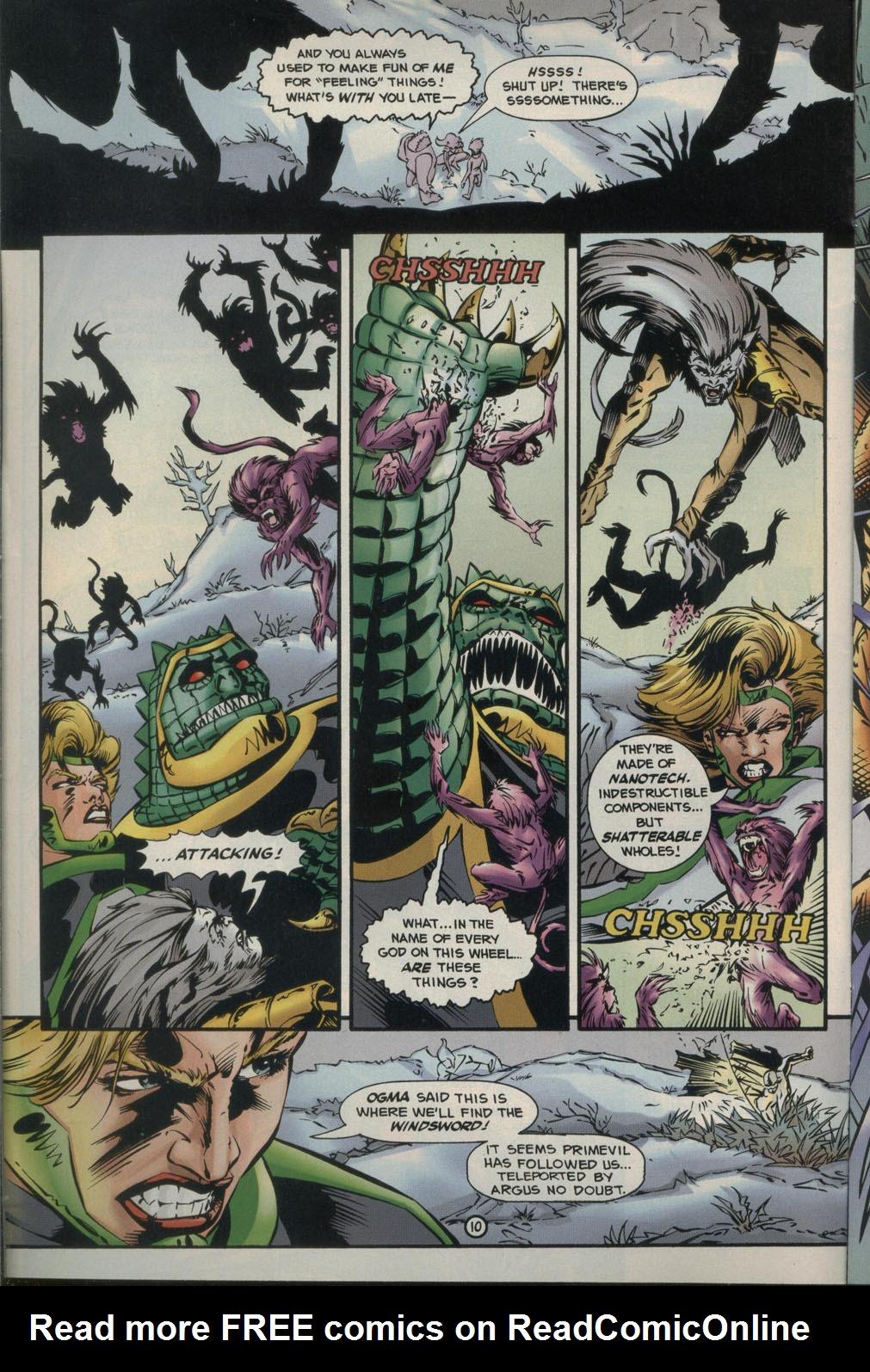 Read online Godwheel comic -  Issue #2 - 13