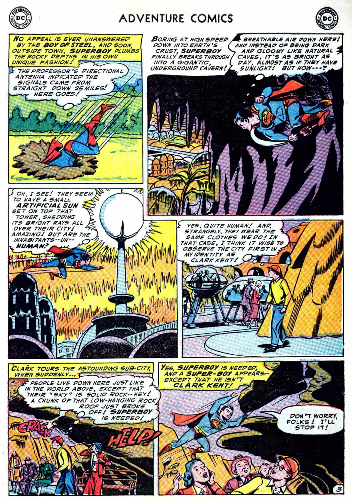 Read online Adventure Comics (1938) comic -  Issue #199 - 4