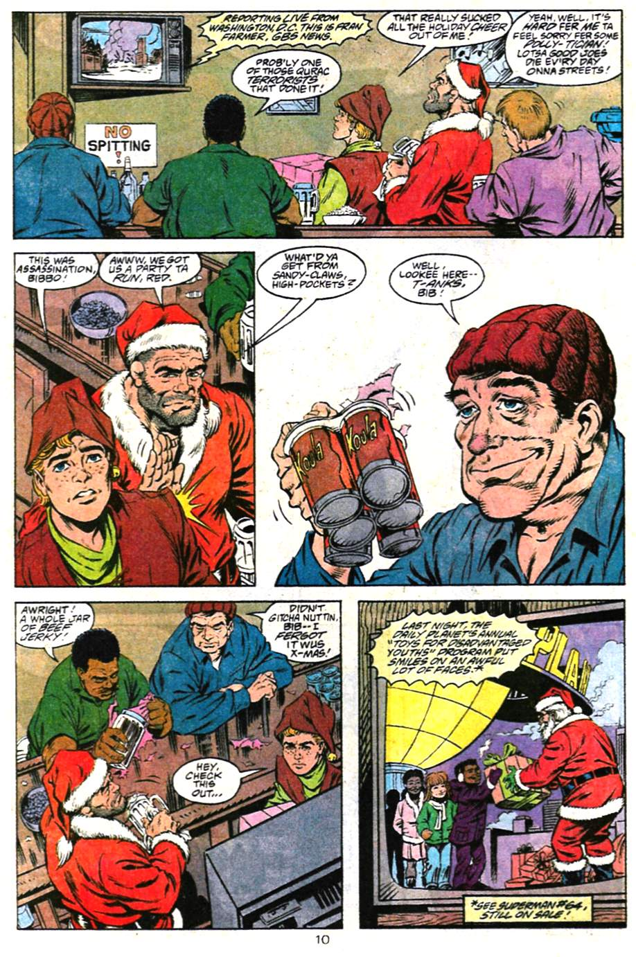 Read online Adventures of Superman (1987) comic -  Issue #487 - 11