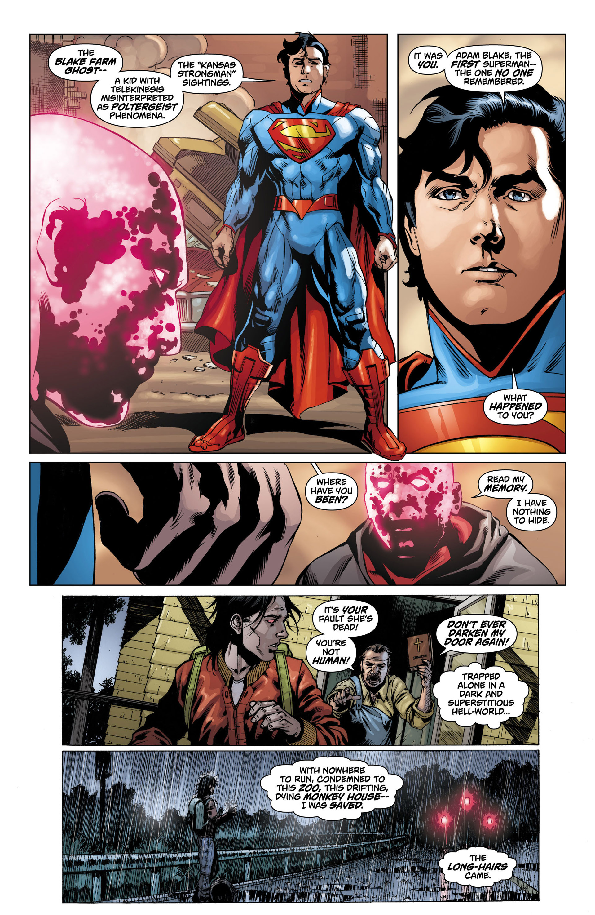 Read online Action Comics (2011) comic -  Issue #12 - 13
