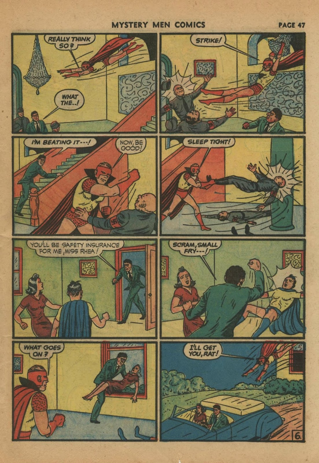 Mystery Men Comics issue 24 - Page 49
