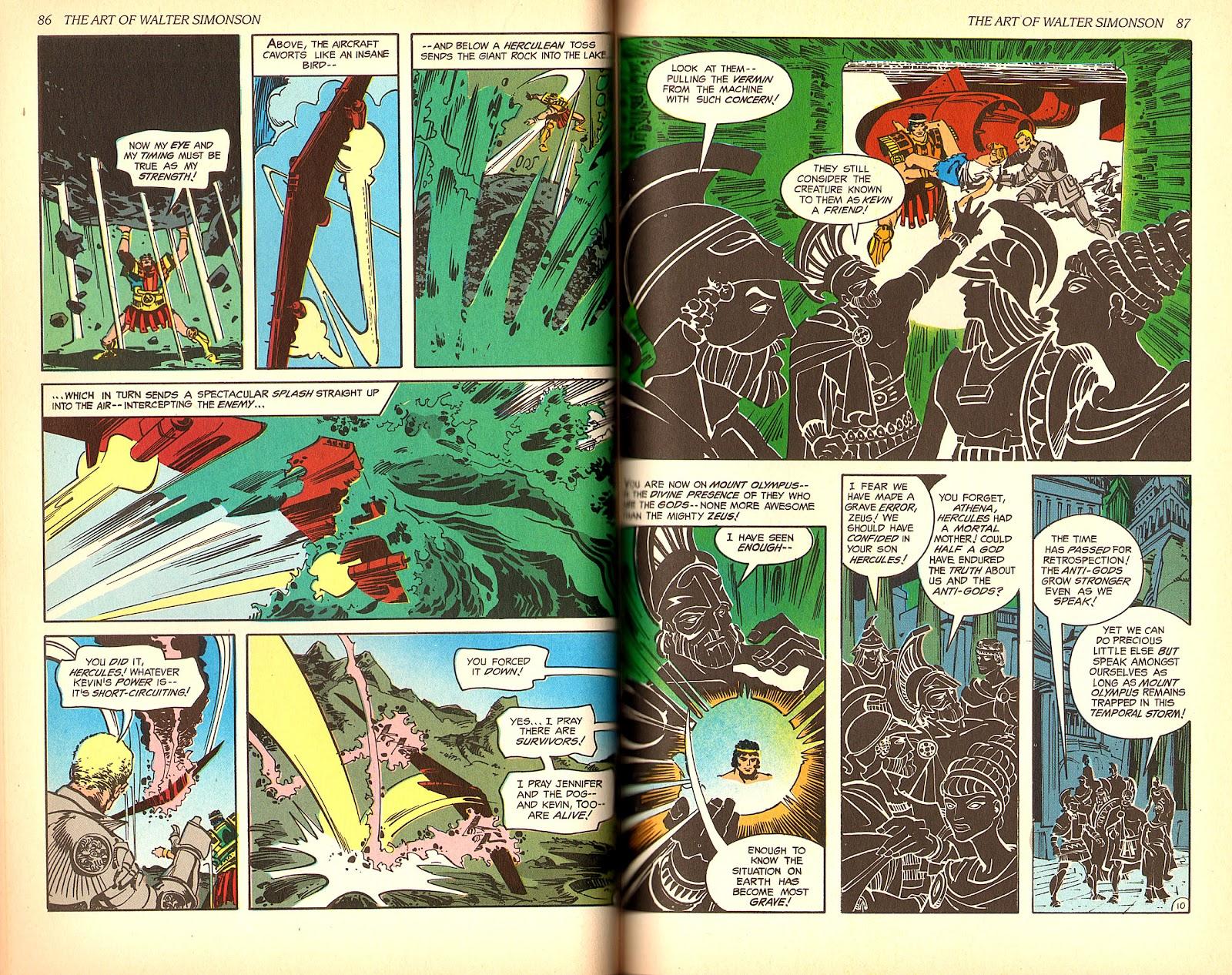 Read online The Art of Walter Simonson comic -  Issue # TPB - 45